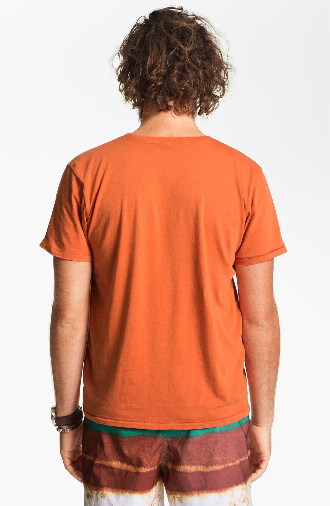 Alternate Image 2  - Nudie Pocket Crewneck T-Shirt