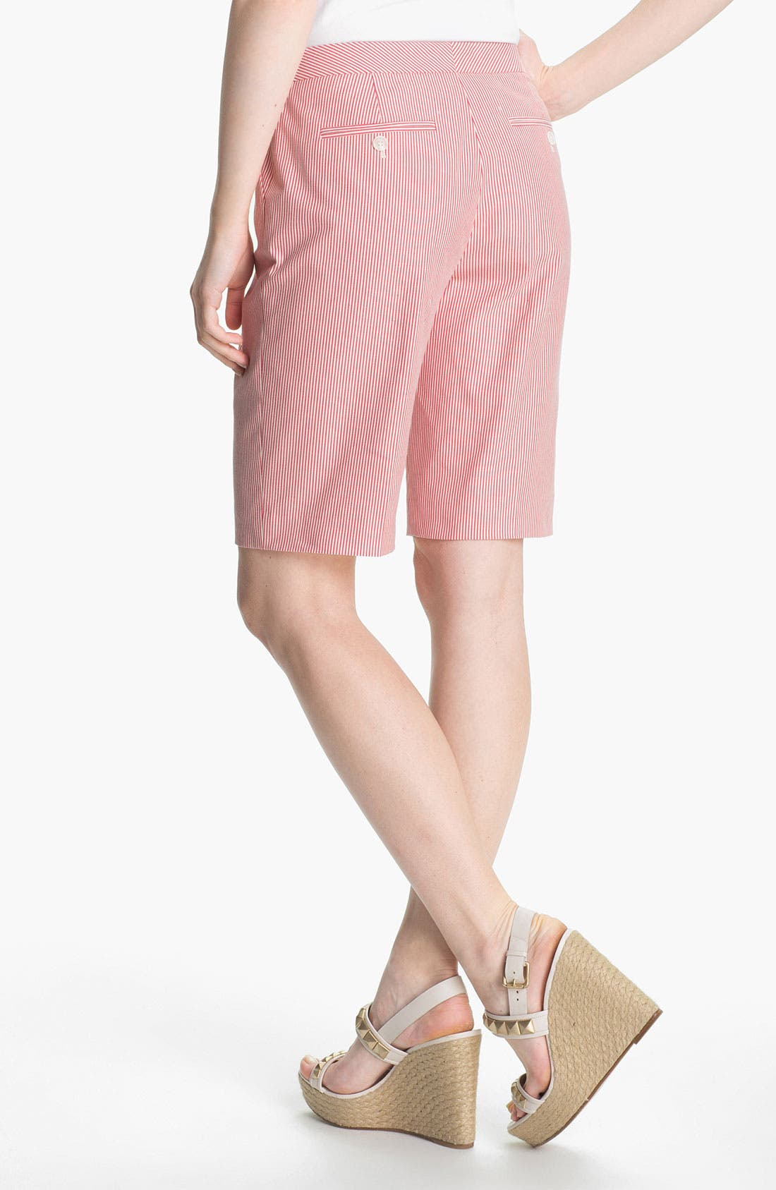 Alternate Image 2  - Halogen® 'Taylor' Curvy Fit Bermuda Shorts