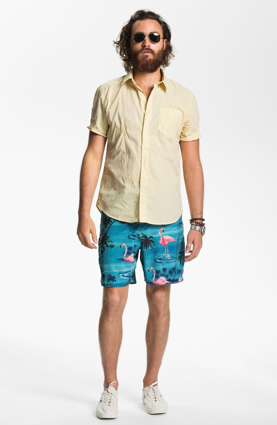 Alternate Image 4  - Volcom 'Why Factor' Woven Shirt