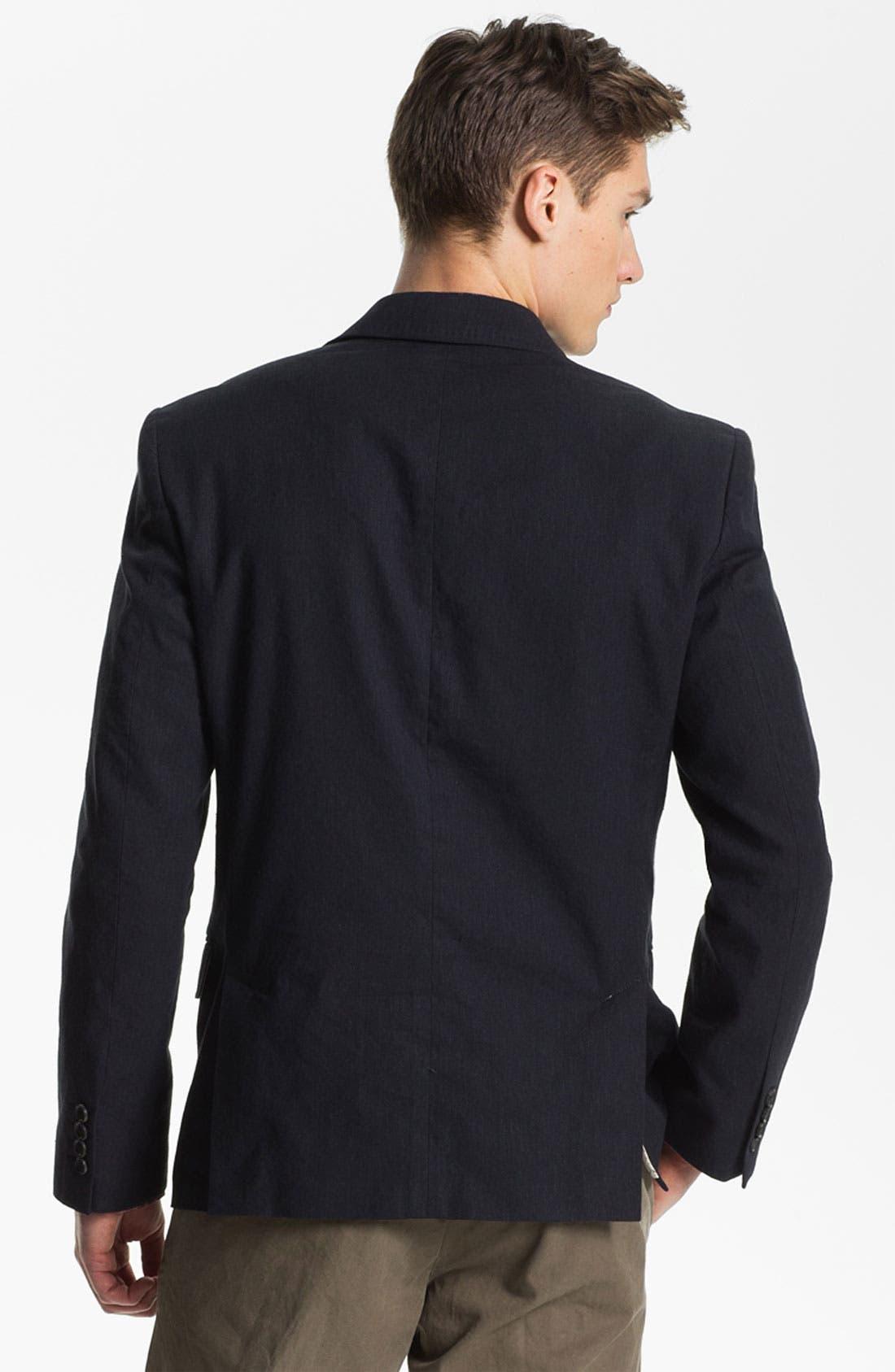 Alternate Image 2  - Billy Reid 'Lexington' Cotton & Linen Blazer