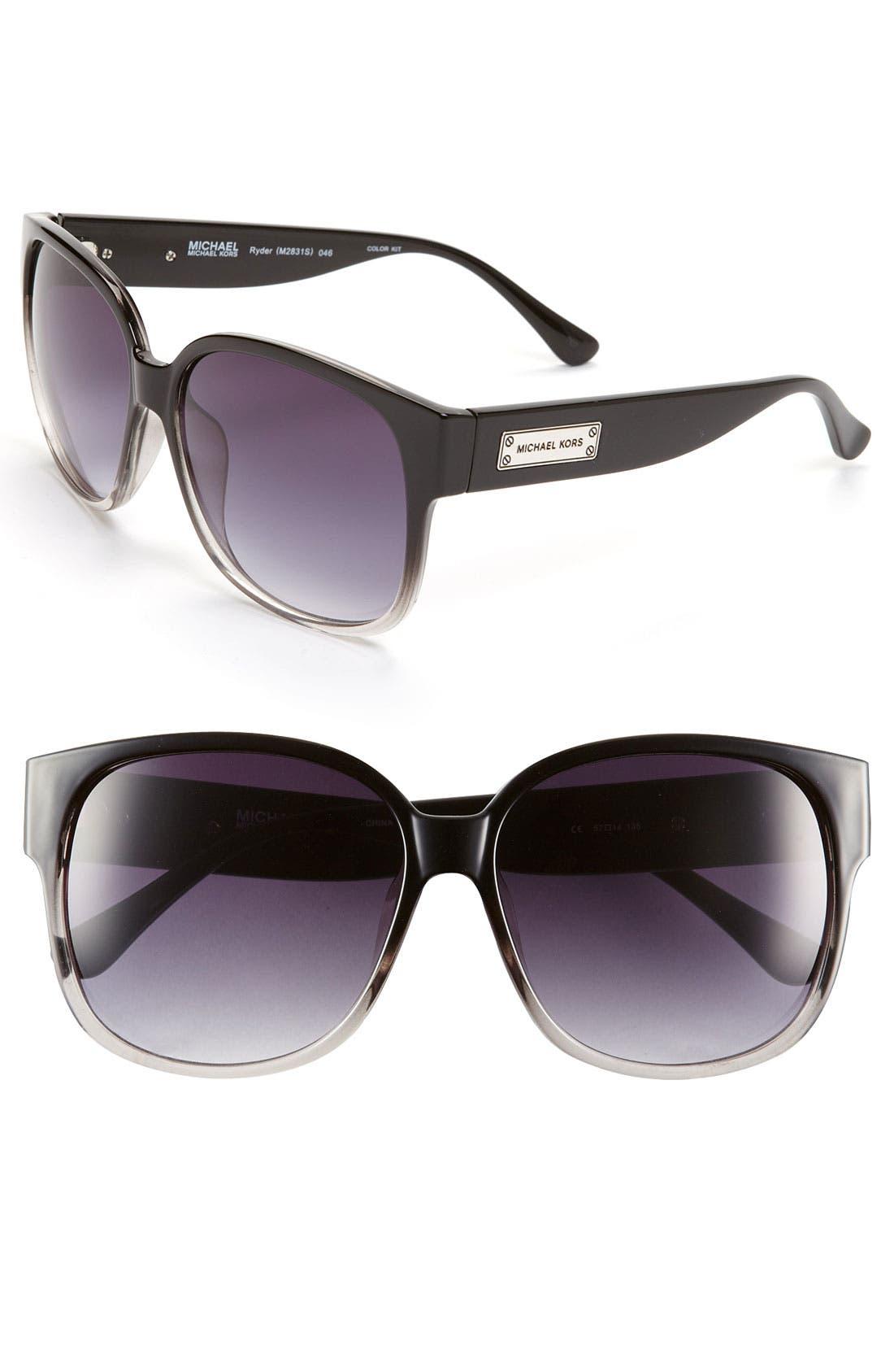 Alternate Image 1 Selected - MICHAEL Michael Kors 57mm Oversized Sunglasses