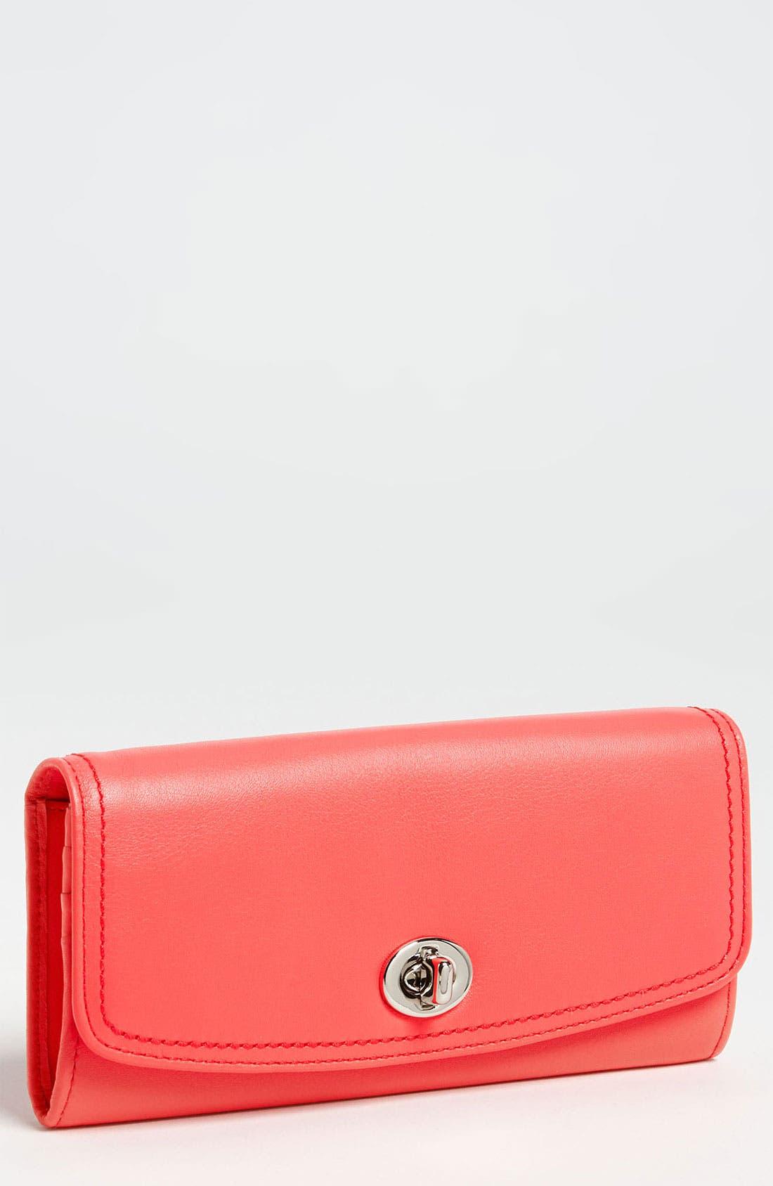 Main Image - COACH 'Legacy - Slim' Leather Envelope Wallet