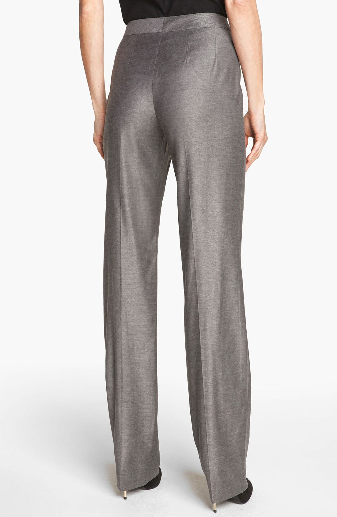 Alternate Image 4  - St. John Collection 'Diana' Shimmer Twill Pants