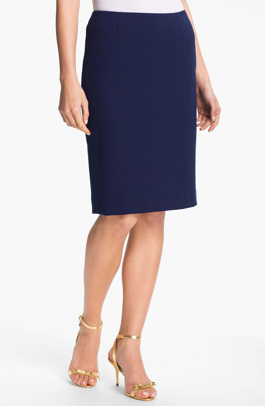 Alternate Image 1 Selected - Anne Klein Ponte Pencil Skirt