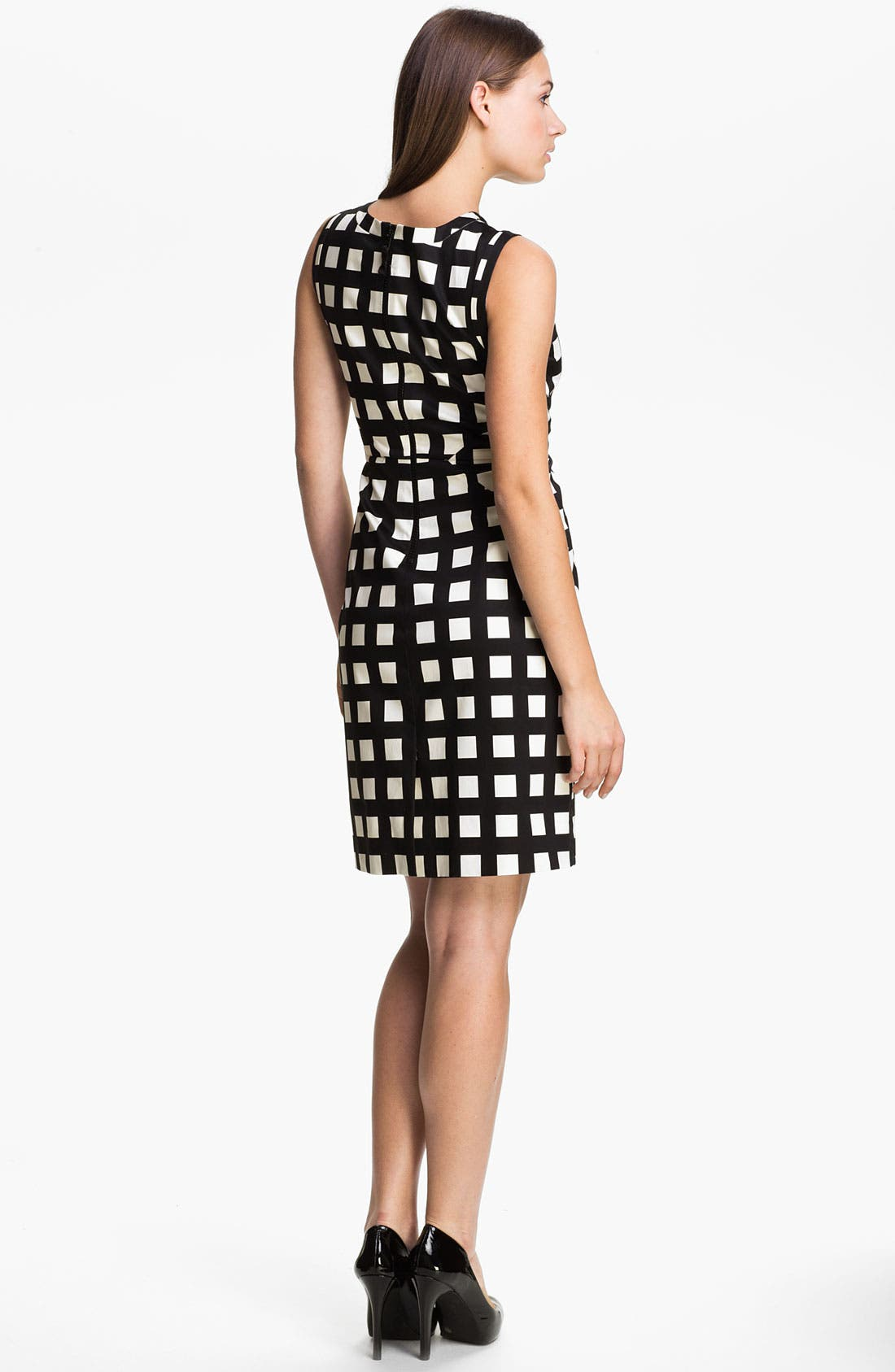 Alternate Image 2  - kate spade new york 'lorelei' stretch cotton sheath dress