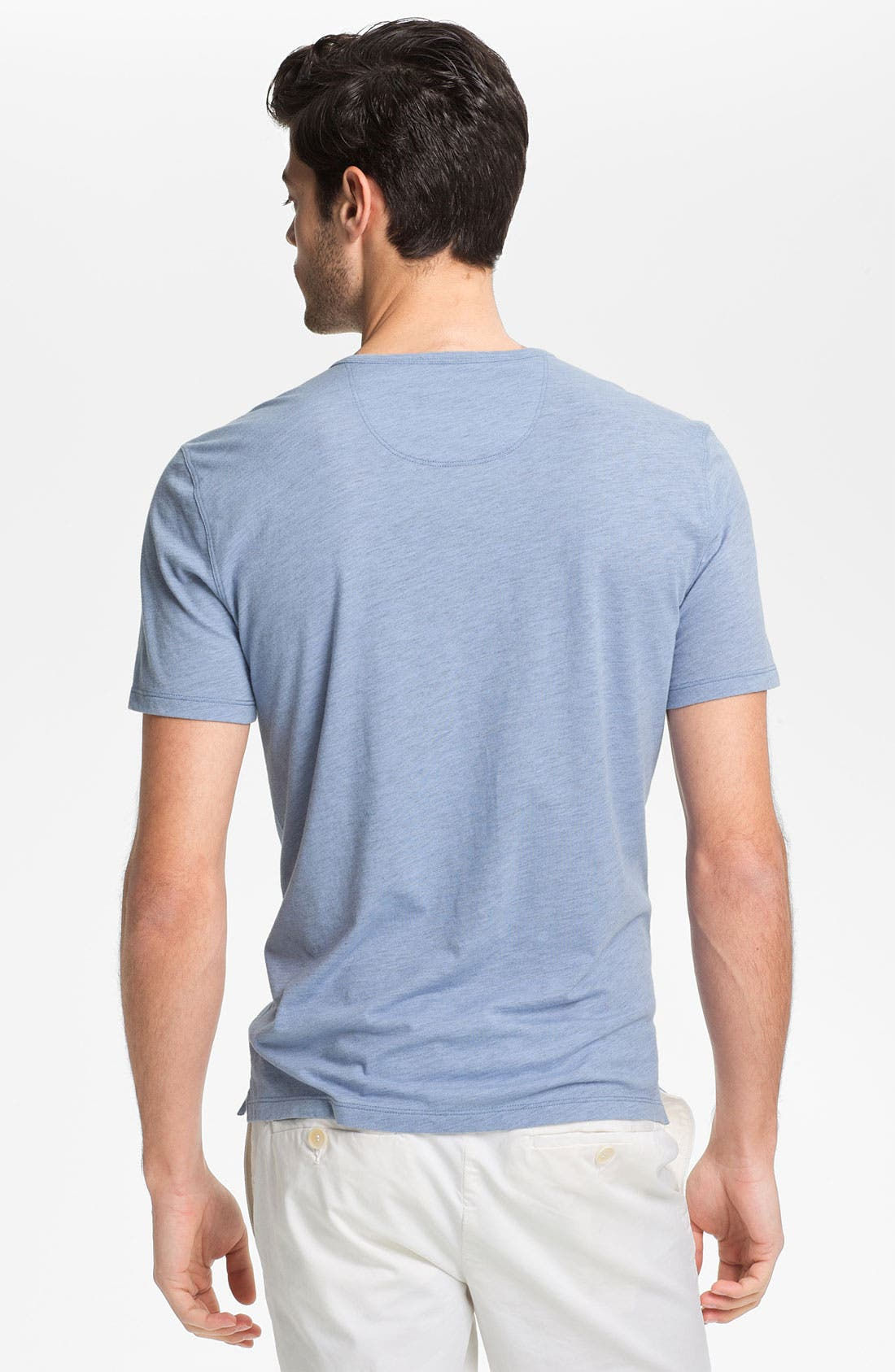 Alternate Image 2  - Vince Short Sleeve Henley T-Shirt