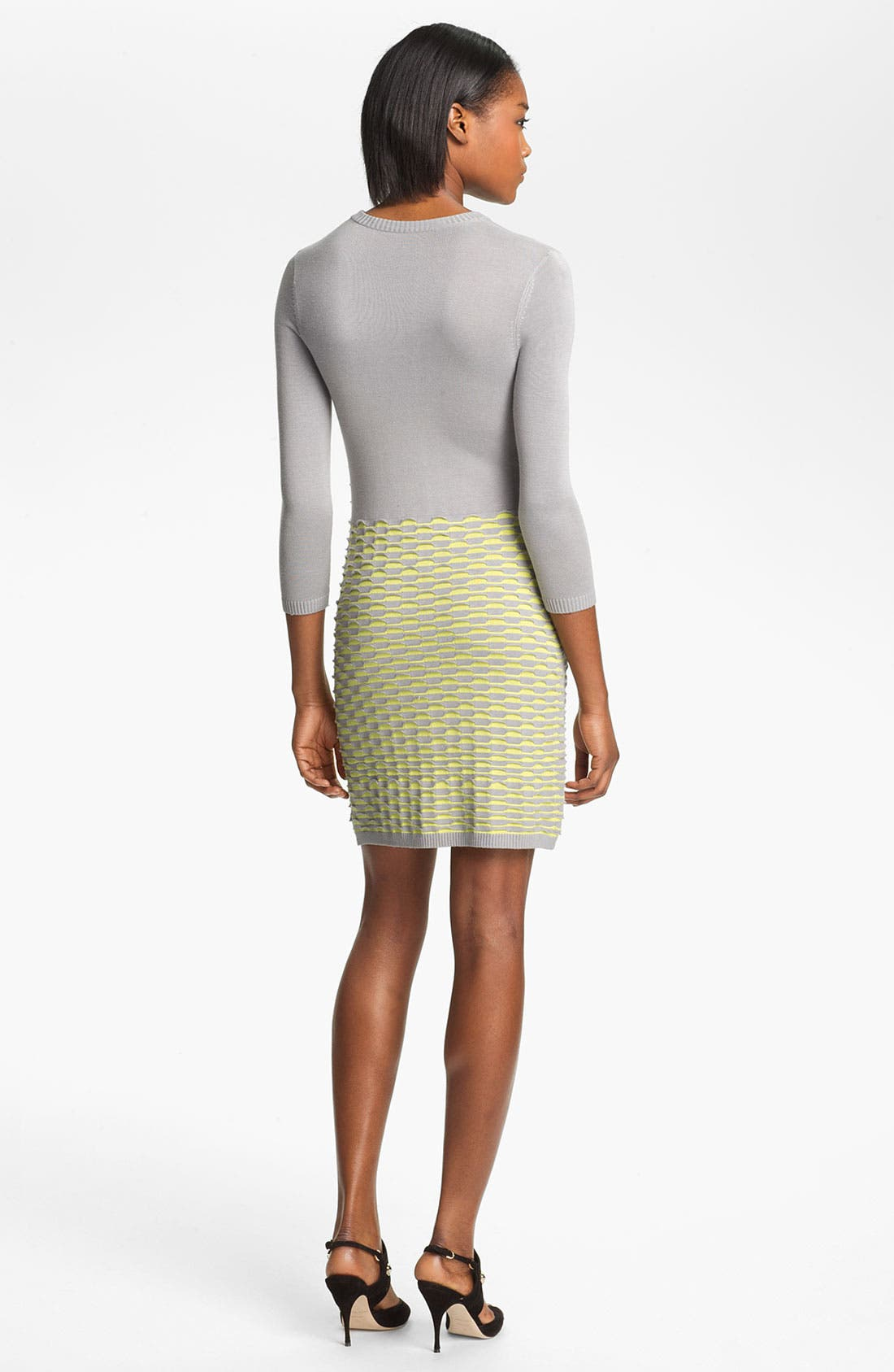 Alternate Image 2  - Cut25 Fish Scale Knit Dress
