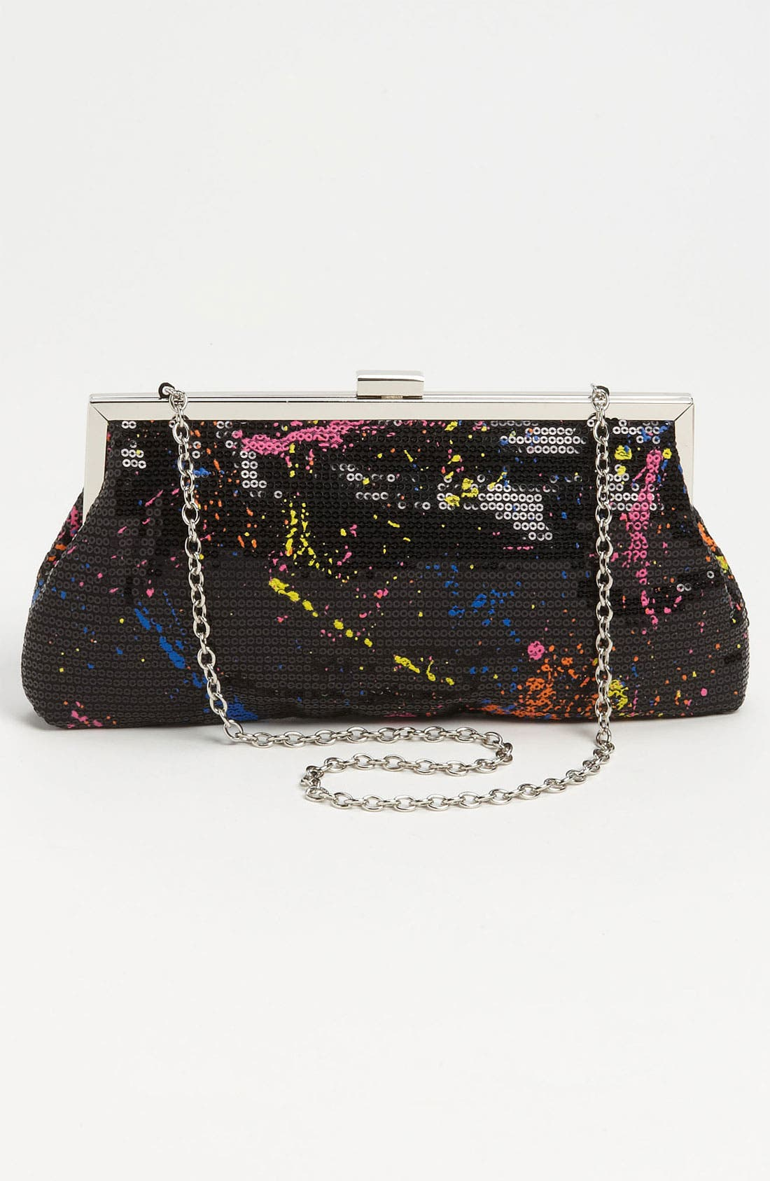 Alternate Image 4  - Jessica McClintock 'Graffiti' Clutch