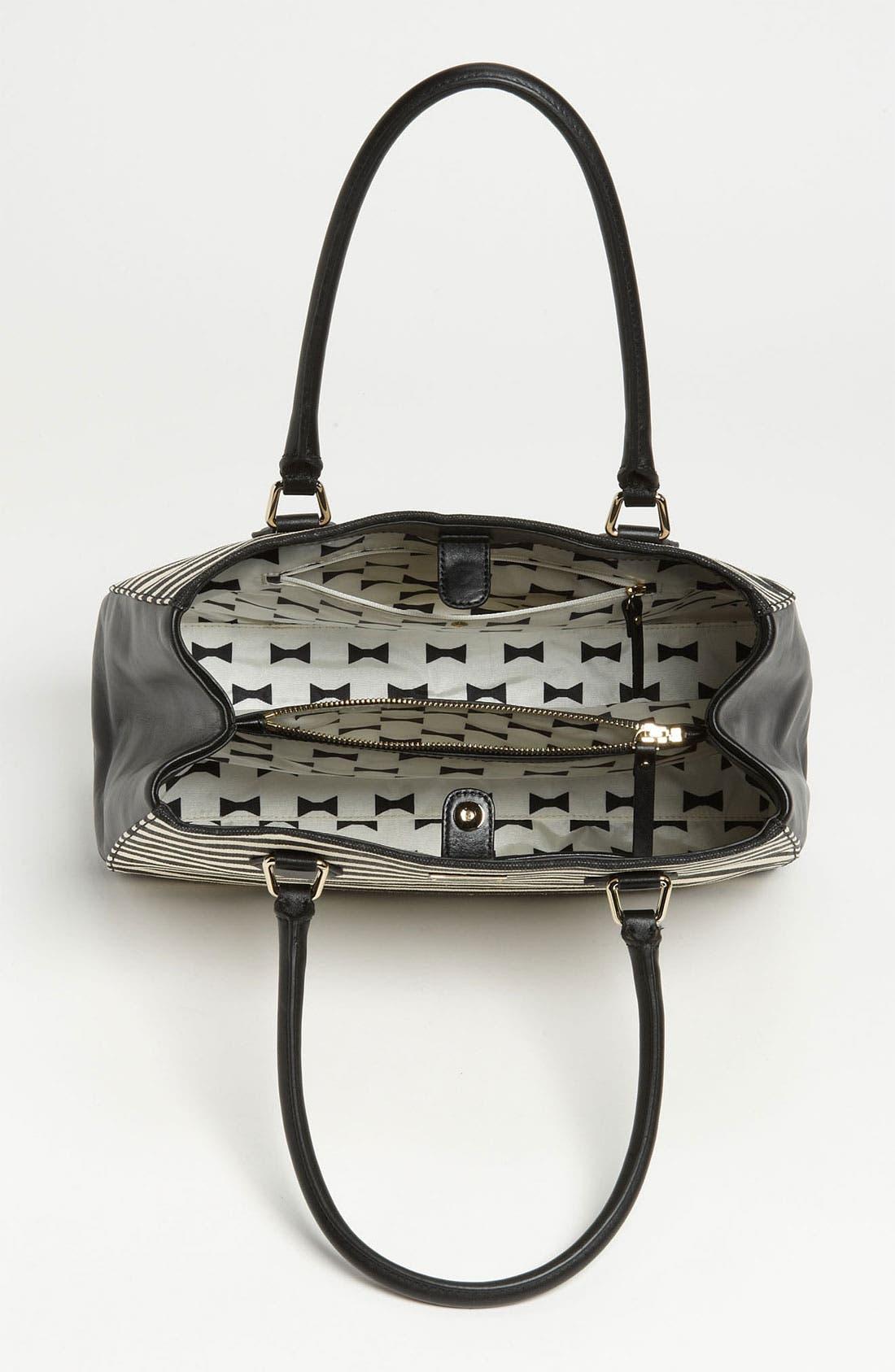 Alternate Image 3  - kate spade new york 'catherine street - stripe louise' shoulder bag