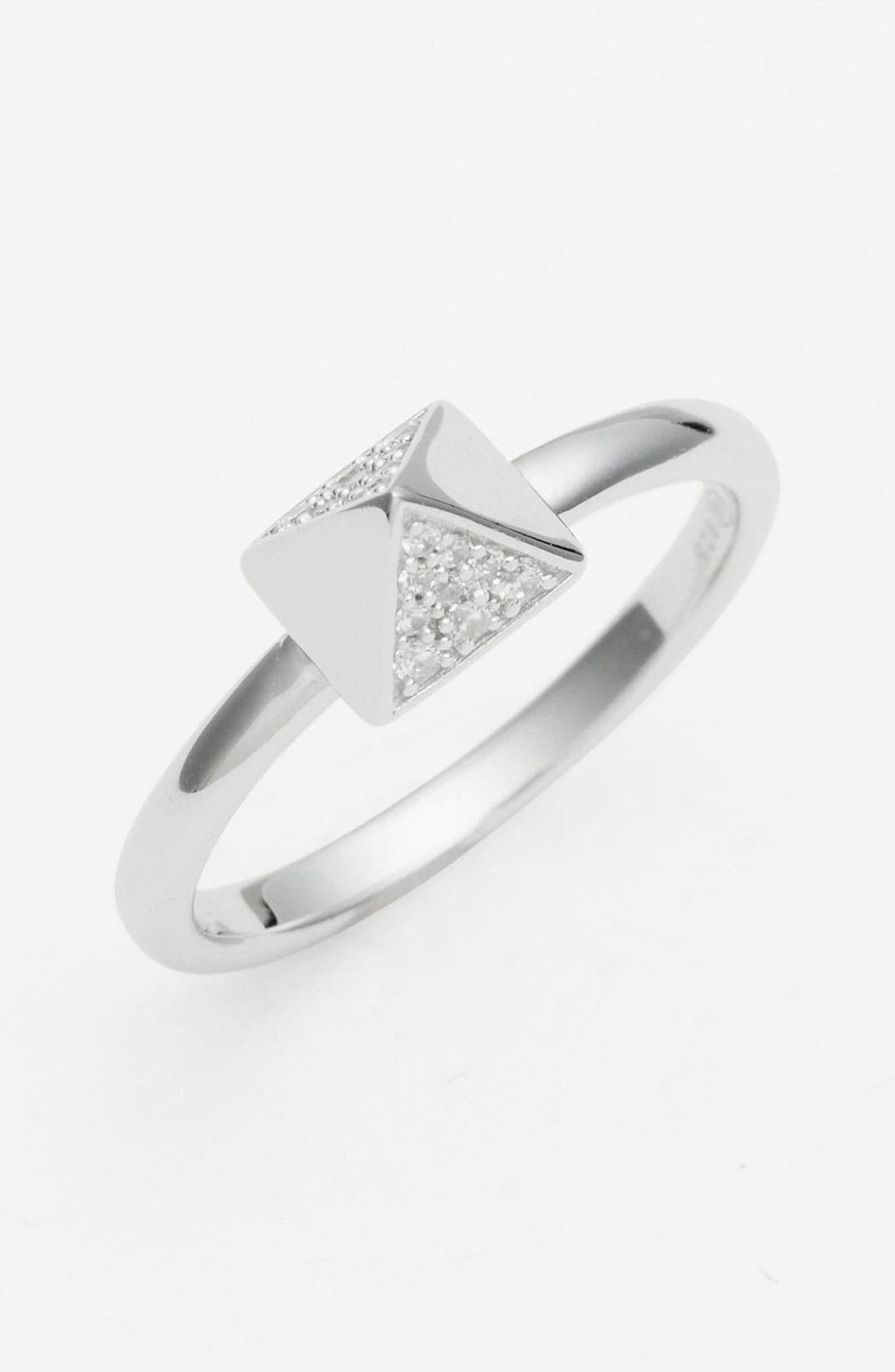 Main Image - Tom Binns 'Bejewelled' Pavé Stud Ring