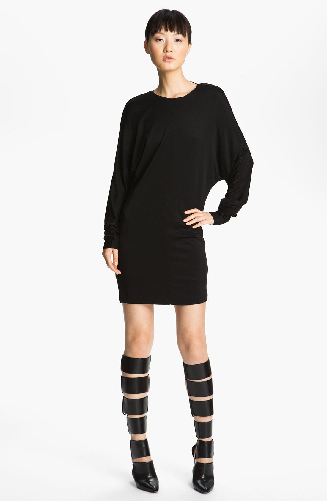 Alternate Image 1 Selected - T by Alexander Wang Double Knit Piqué Dress