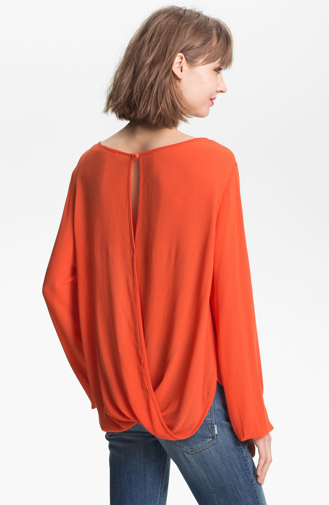 Alternate Image 2  - Ella Moss 'Stella' Keyhole Neck Surplice Top