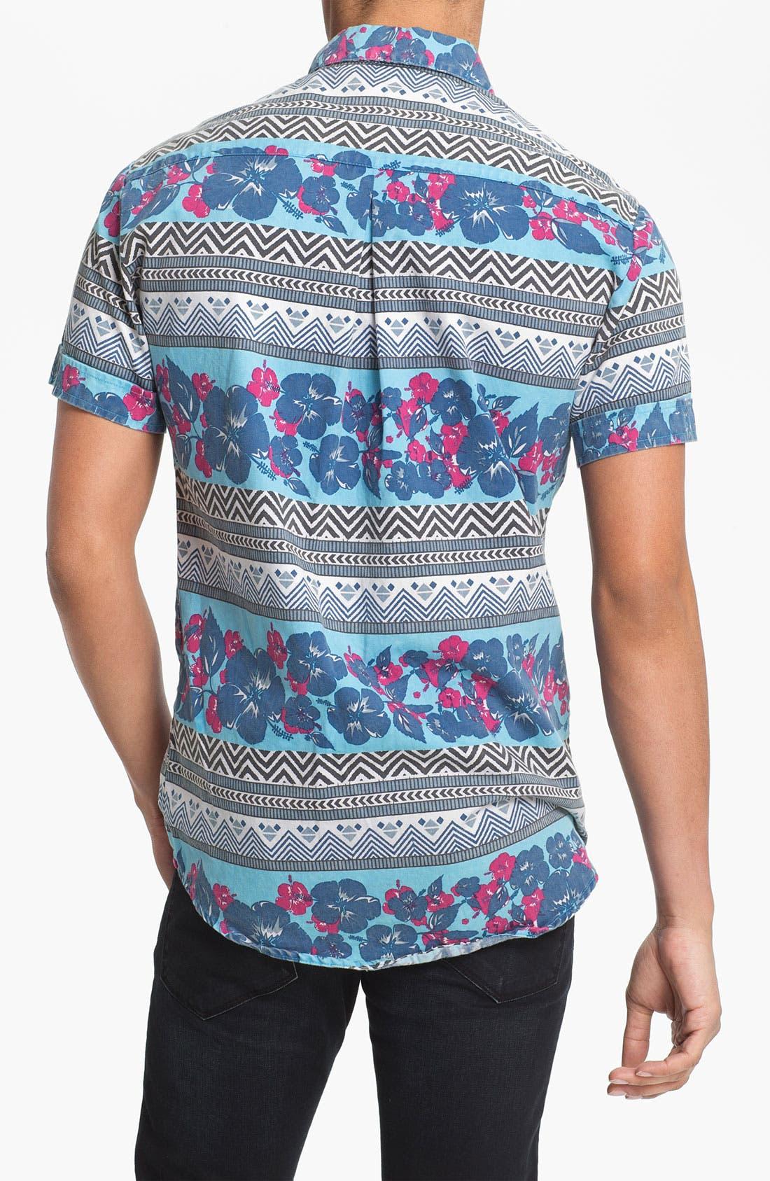 Alternate Image 3  - Vanguard 'Tropical Pharaoh' Woven Shirt