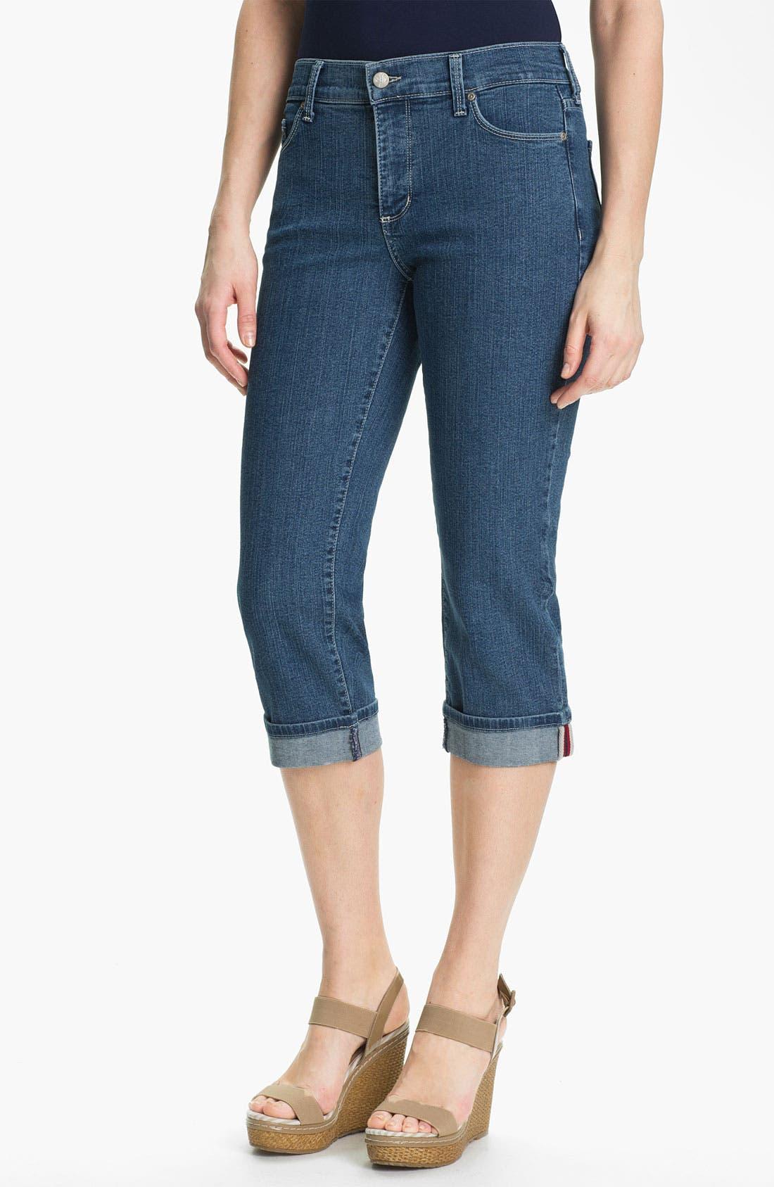 Alternate Image 1 Selected - NYDJ 'Edna' Cuff Crop Jeans