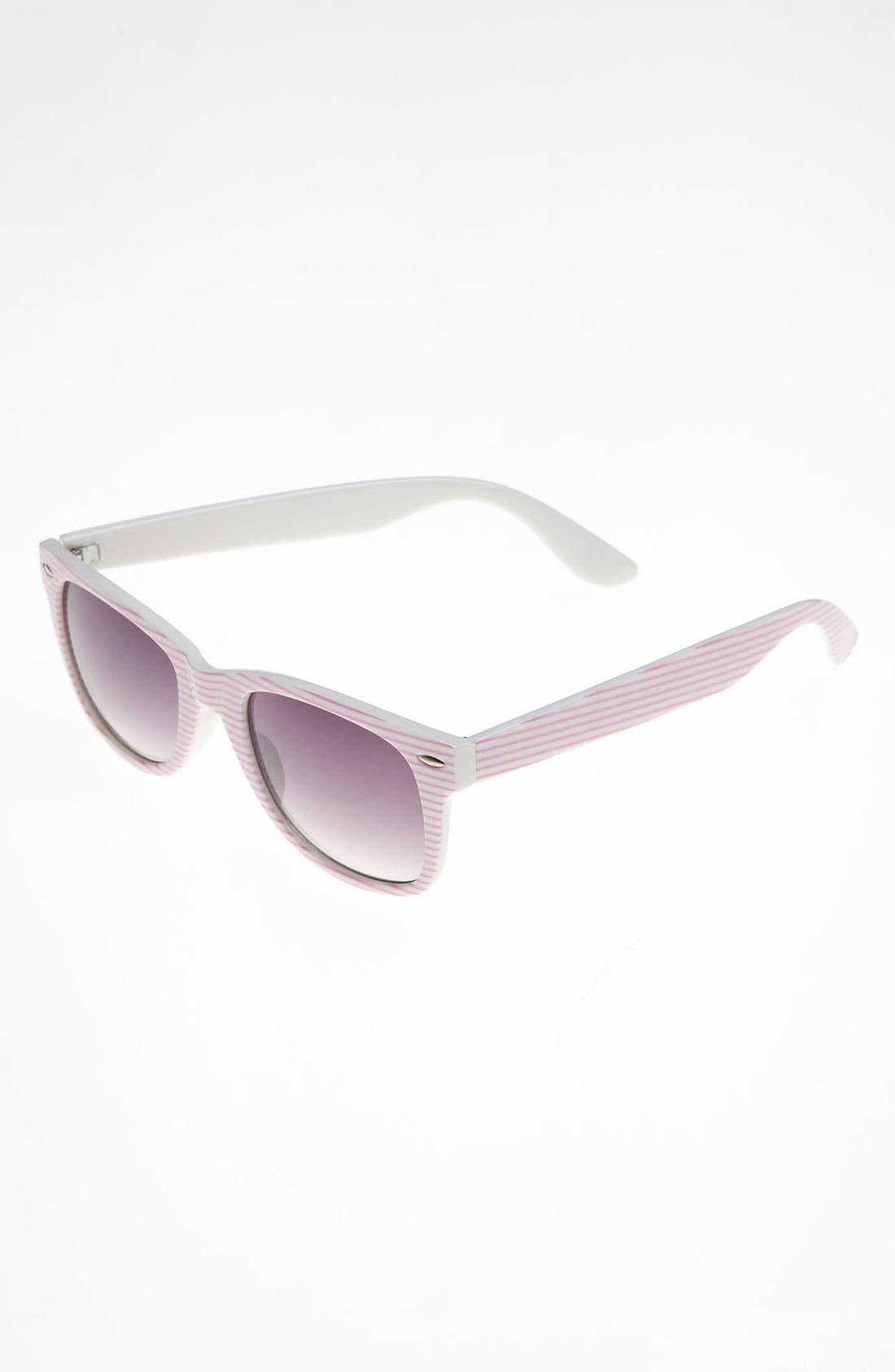 Alternate Image 1 Selected - Icon Eyewear Stripe Sunglasses (Girls)