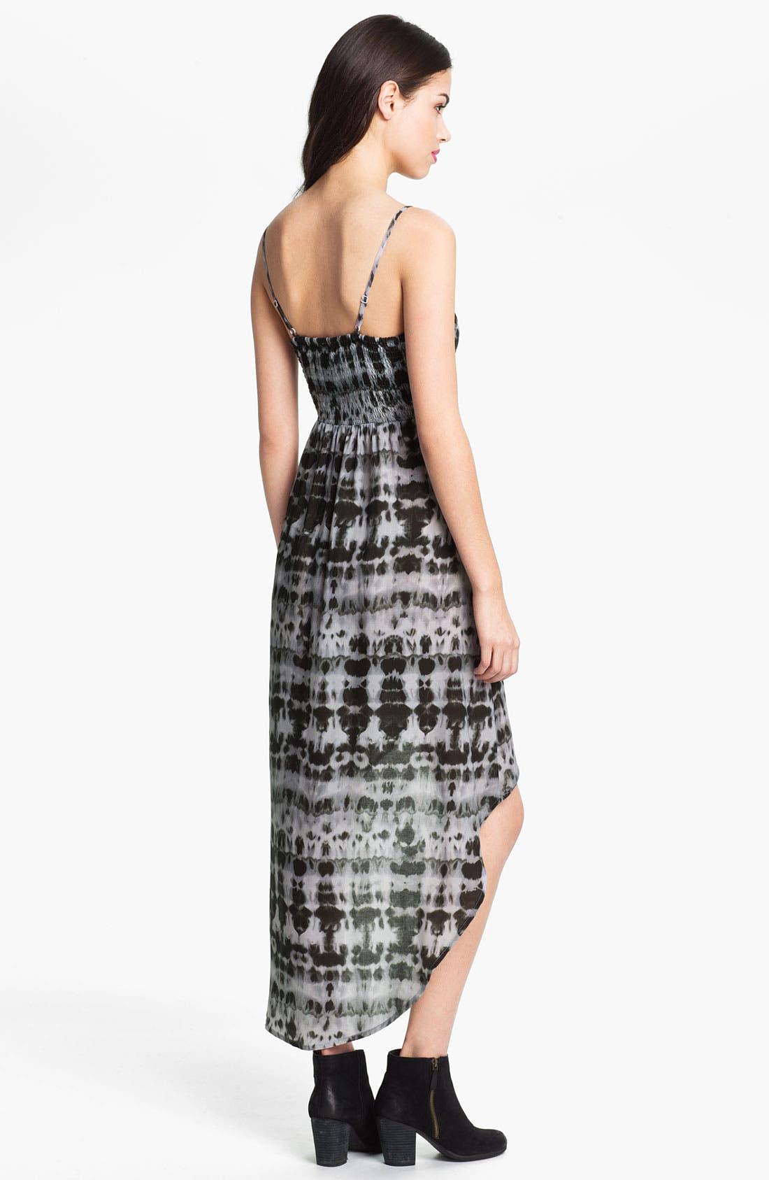 Alternate Image 3  - Mimi Chica Tie Dye High/Low Dress (Juniors)