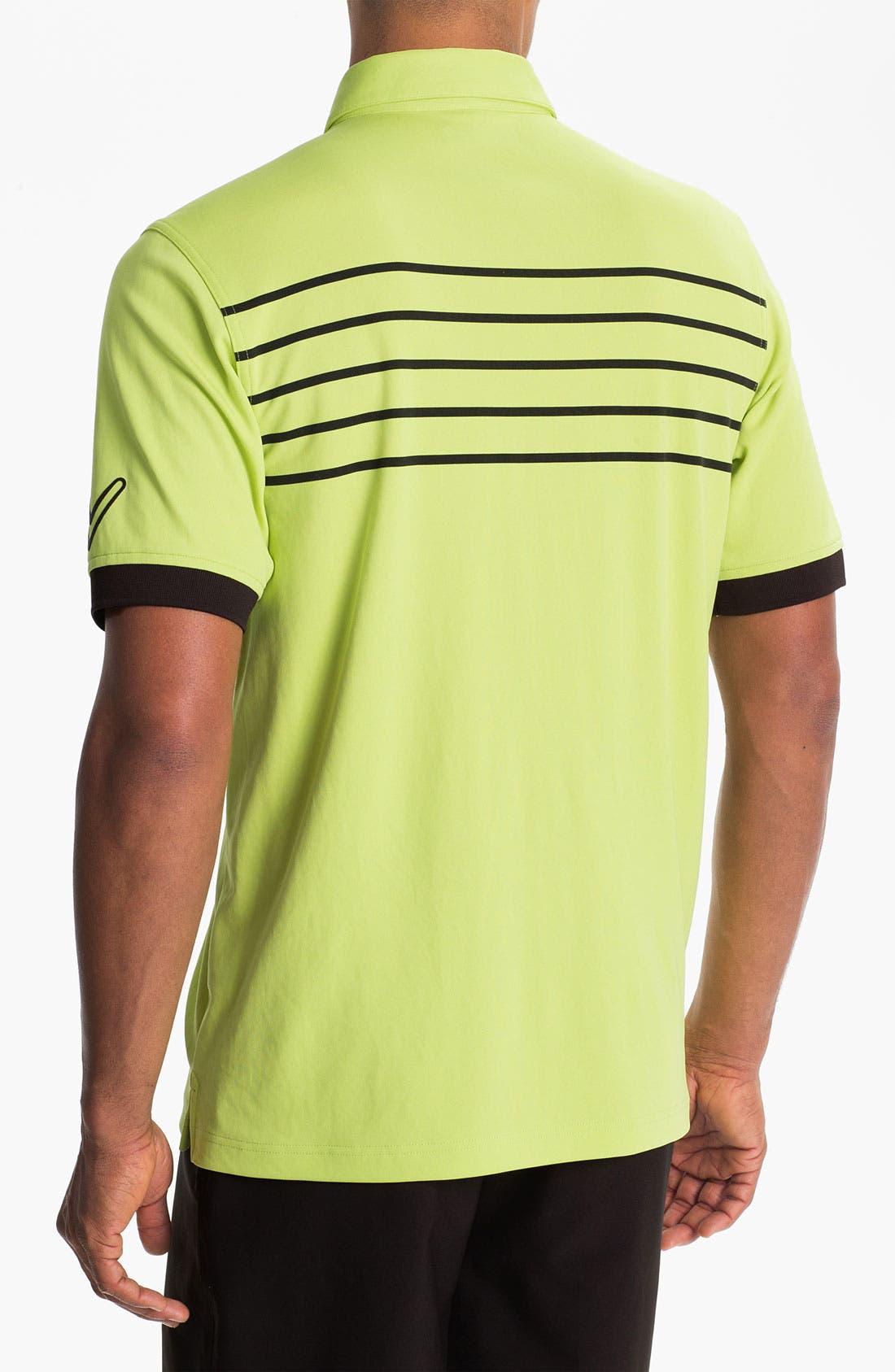 Alternate Image 2  - Callaway Golf® Stripe Regular Fit Polo