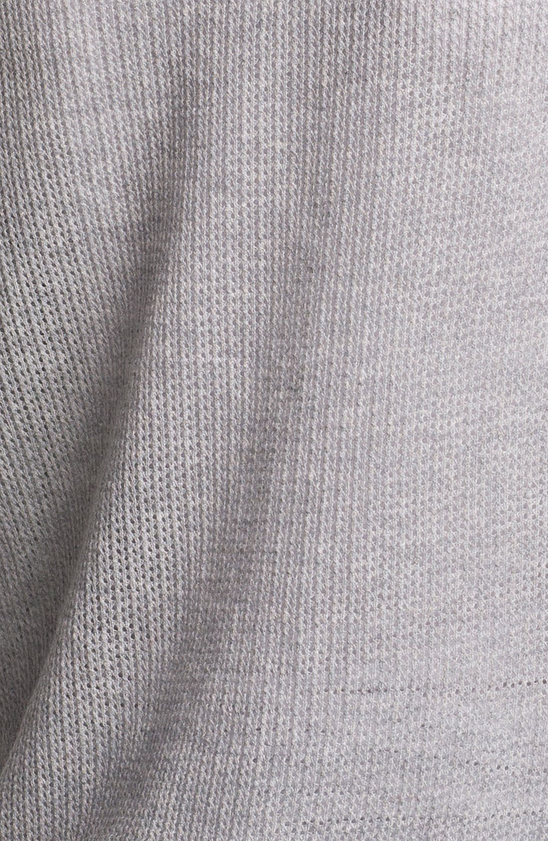 Alternate Image 3  - Halogen® Three Quarter Sleeve Textured Sweater