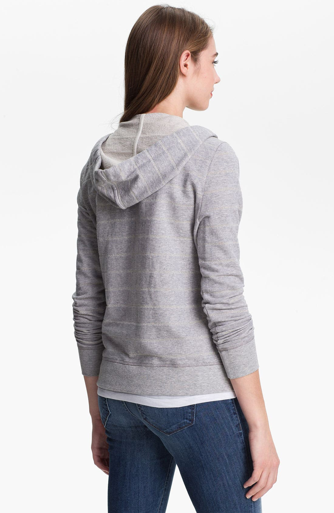 Alternate Image 2  - Two by Vince Camuto French Terry Hoodie