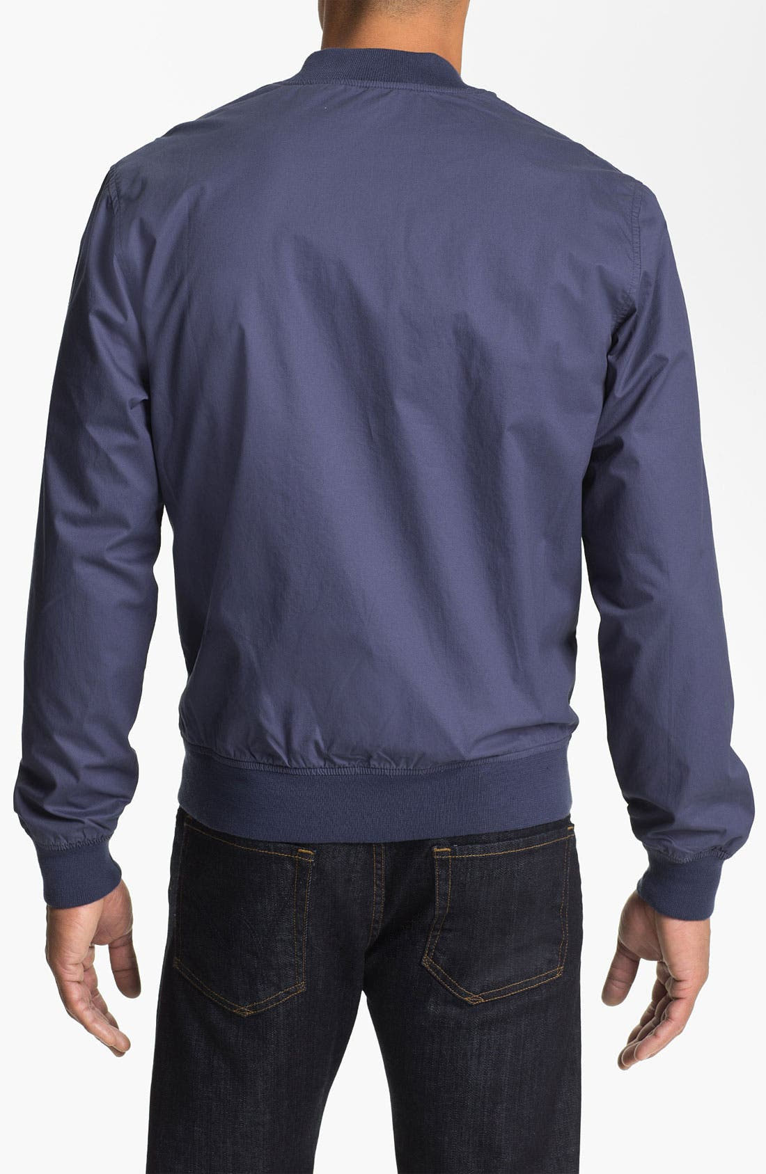 Alternate Image 2  - Cutter & Buck 'Edmonds Washed' Cotton Jacket (Big & Tall) (Online Only)