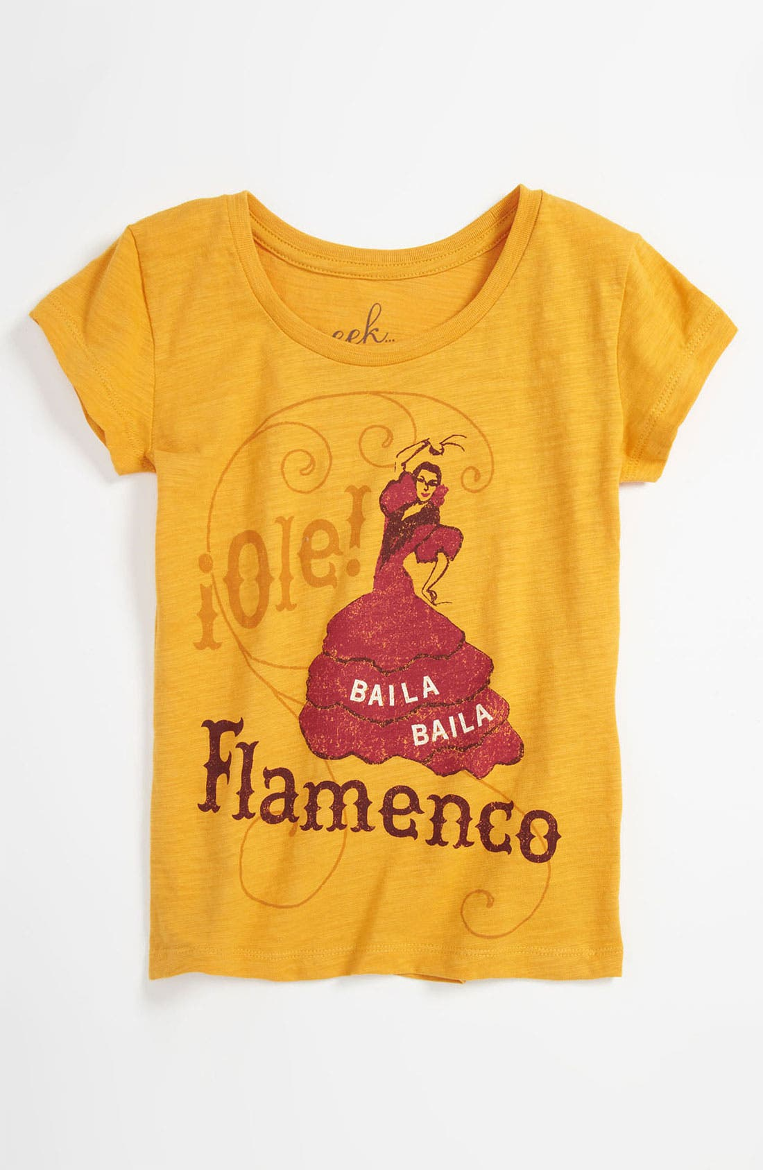 Alternate Image 1 Selected - Peek 'Flamenco' Tee (Toddler, Little Girls & Big Girls)