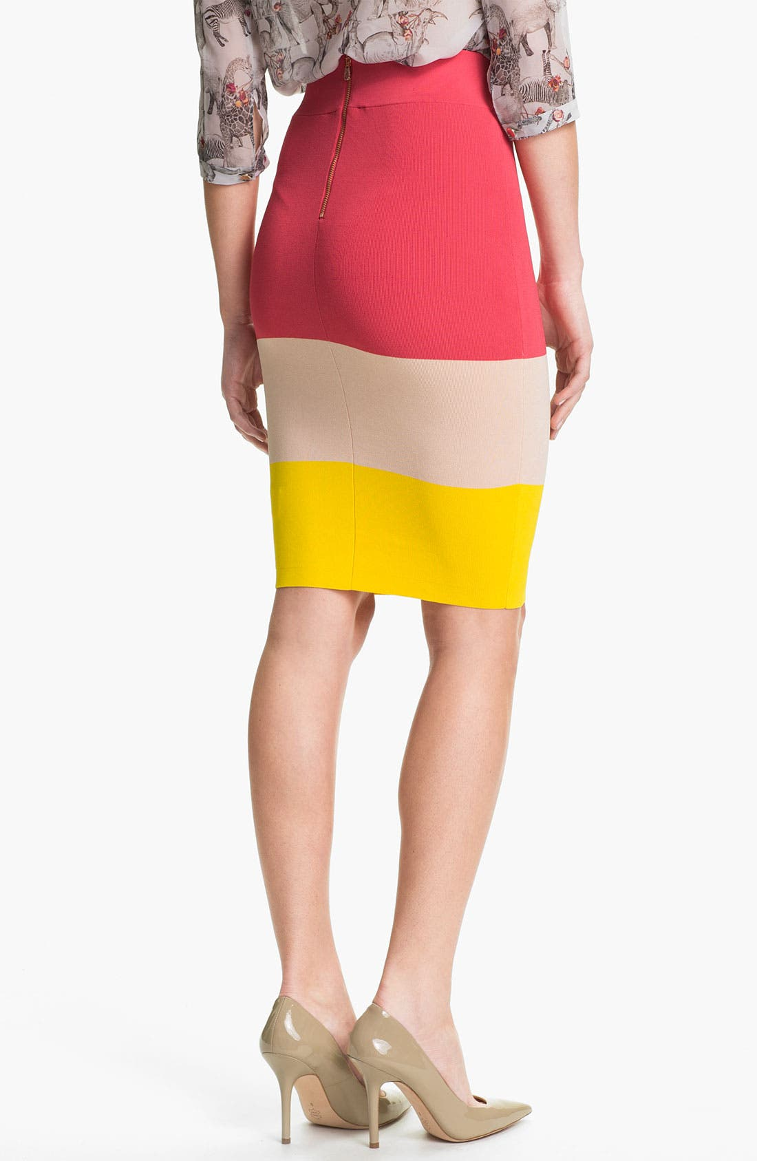 Alternate Image 2  - Ted Baker London Knit Pencil Skirt (Online Only)