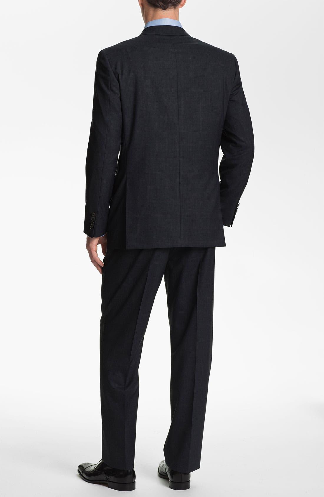 Alternate Image 3  - Joseph Abboud Windowpane Wool Suit