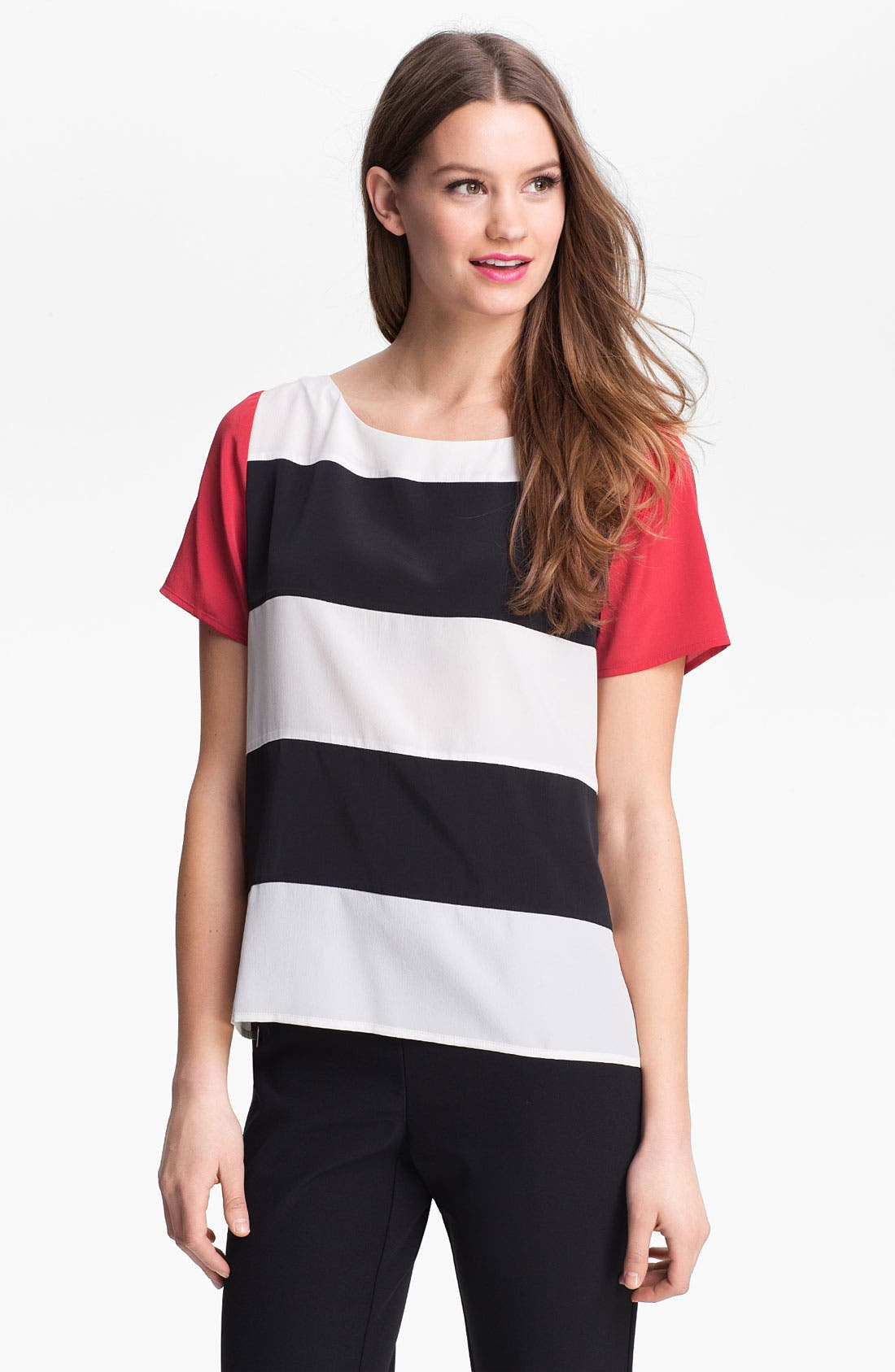 Alternate Image 1 Selected - Kenneth Cole New York 'Alona' Stripe Blouse