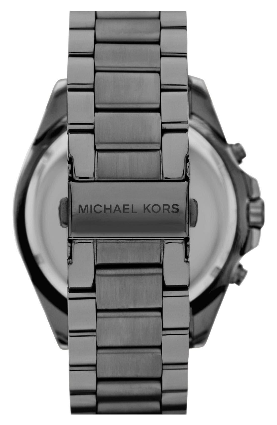 Alternate Image 3  - Michael Kors 'Bradshaw' Chronograph Bracelet Watch, 48mm