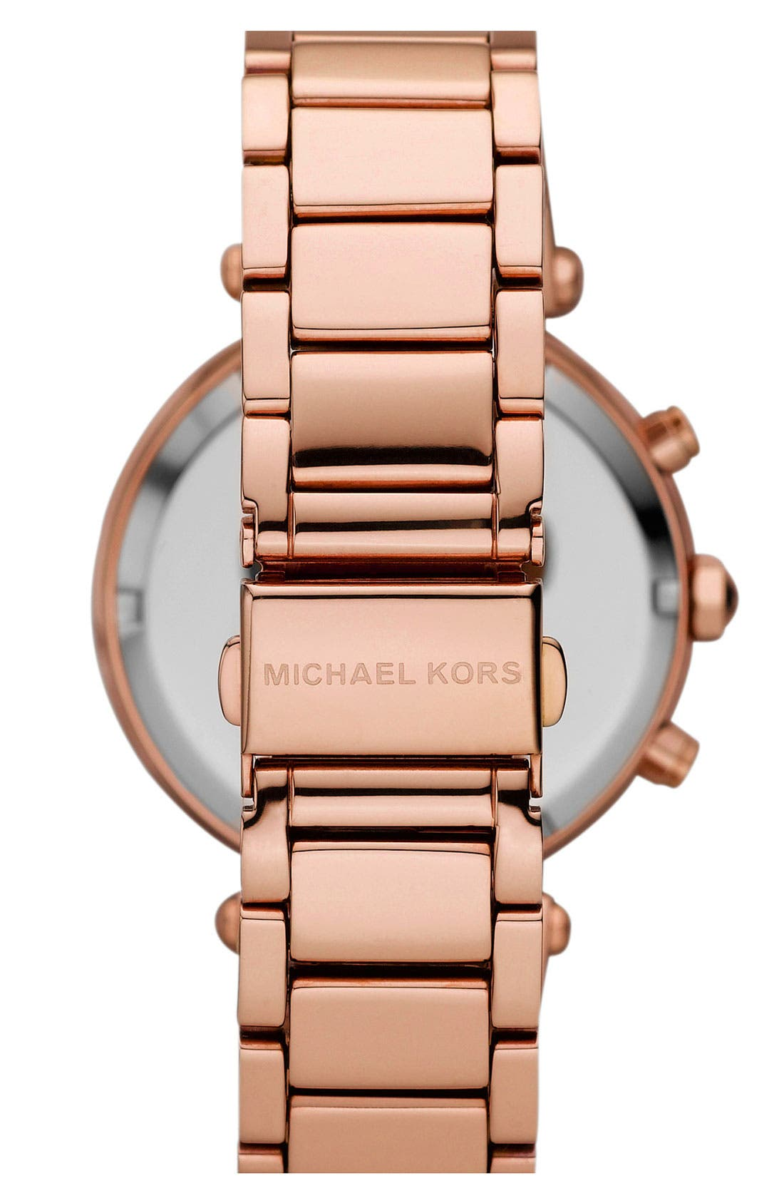Alternate Image 2  - Michael Kors 'Parker' Chronograph Bracelet Watch, 39mm