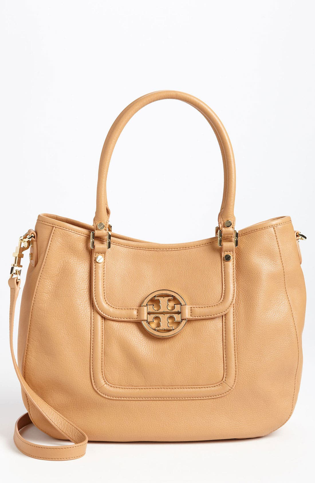 Main Image - Tory Burch 'Amanda' Leather Hobo