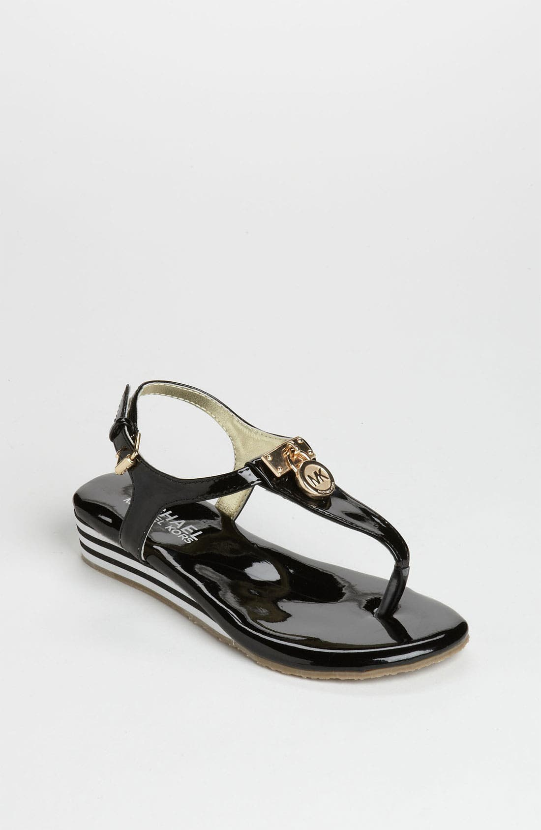Main Image - MICHAEL Michael Kors 'Hamilton' Sandal (Little Kid & Big Kid)