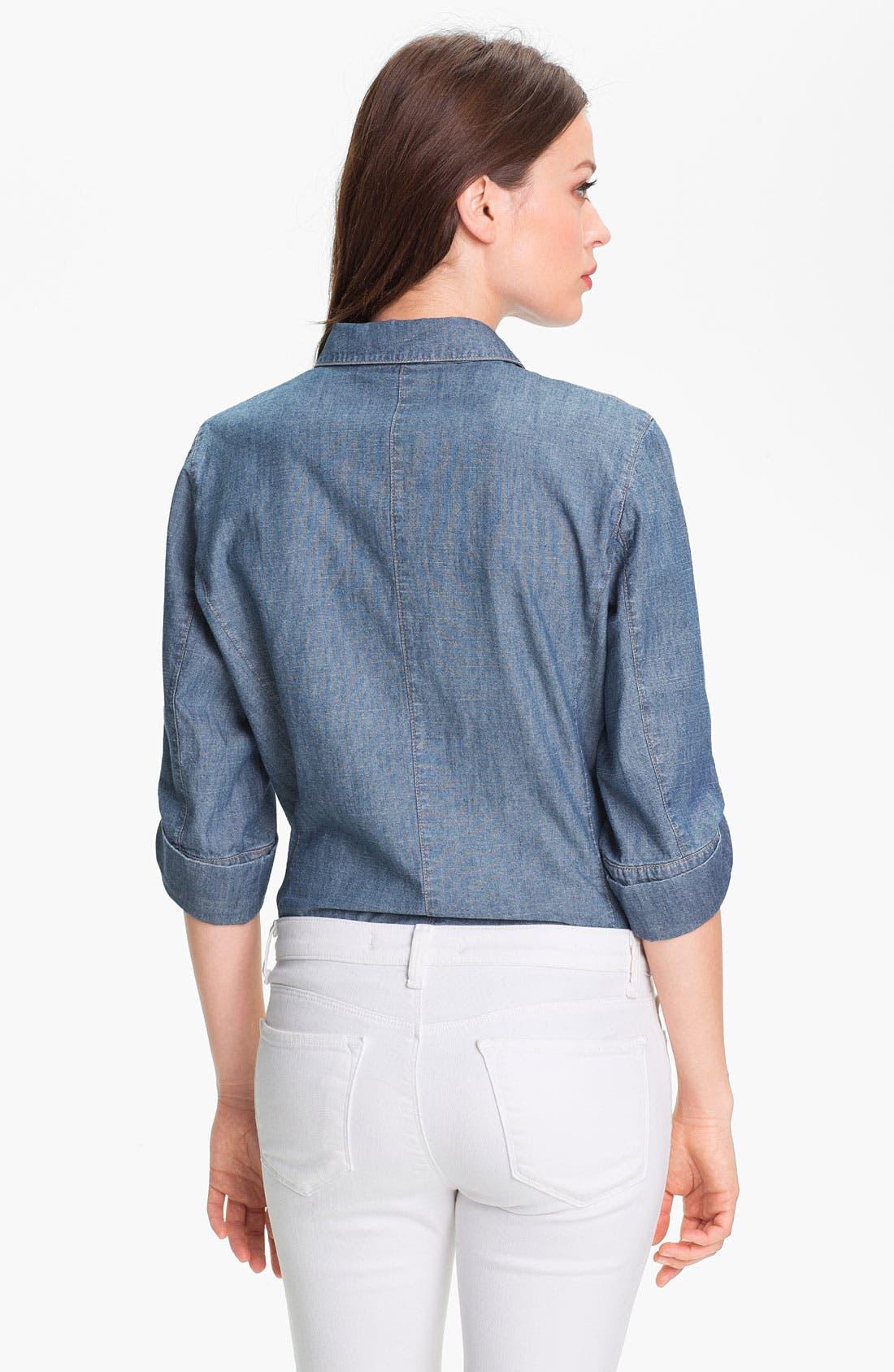 Alternate Image 2  - Nexx Denim Shirt