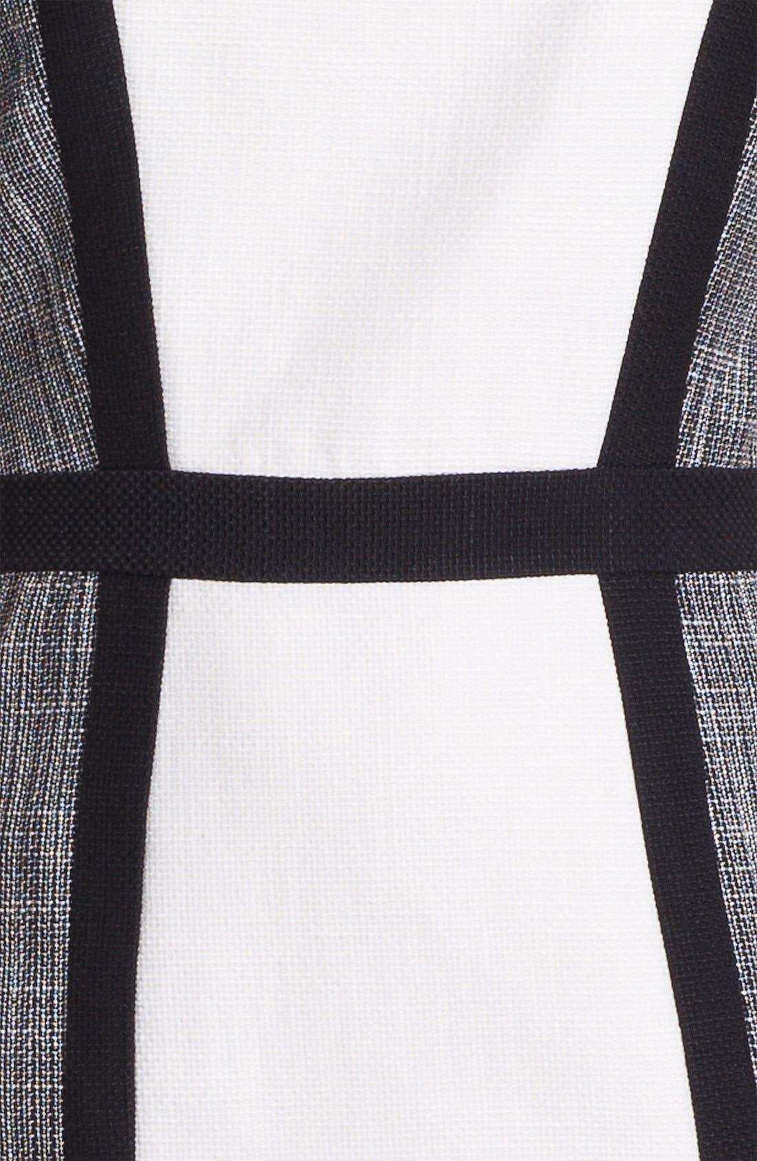 Alternate Image 3  - Calvin Klein Colorblock Panel Dress