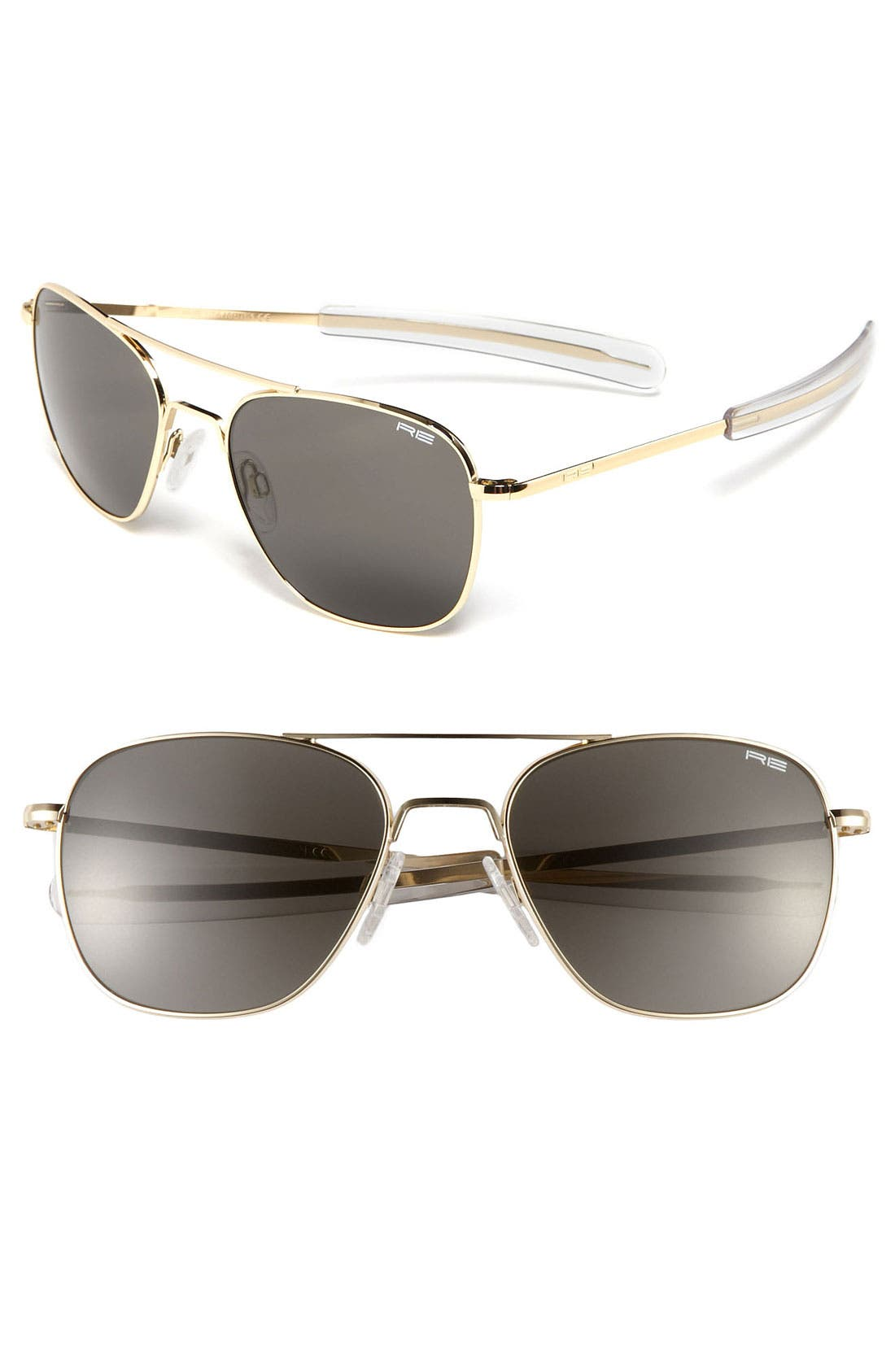 Alternate Image 1 Selected - Randolph Engineering 58mm Aviator Sunglasses