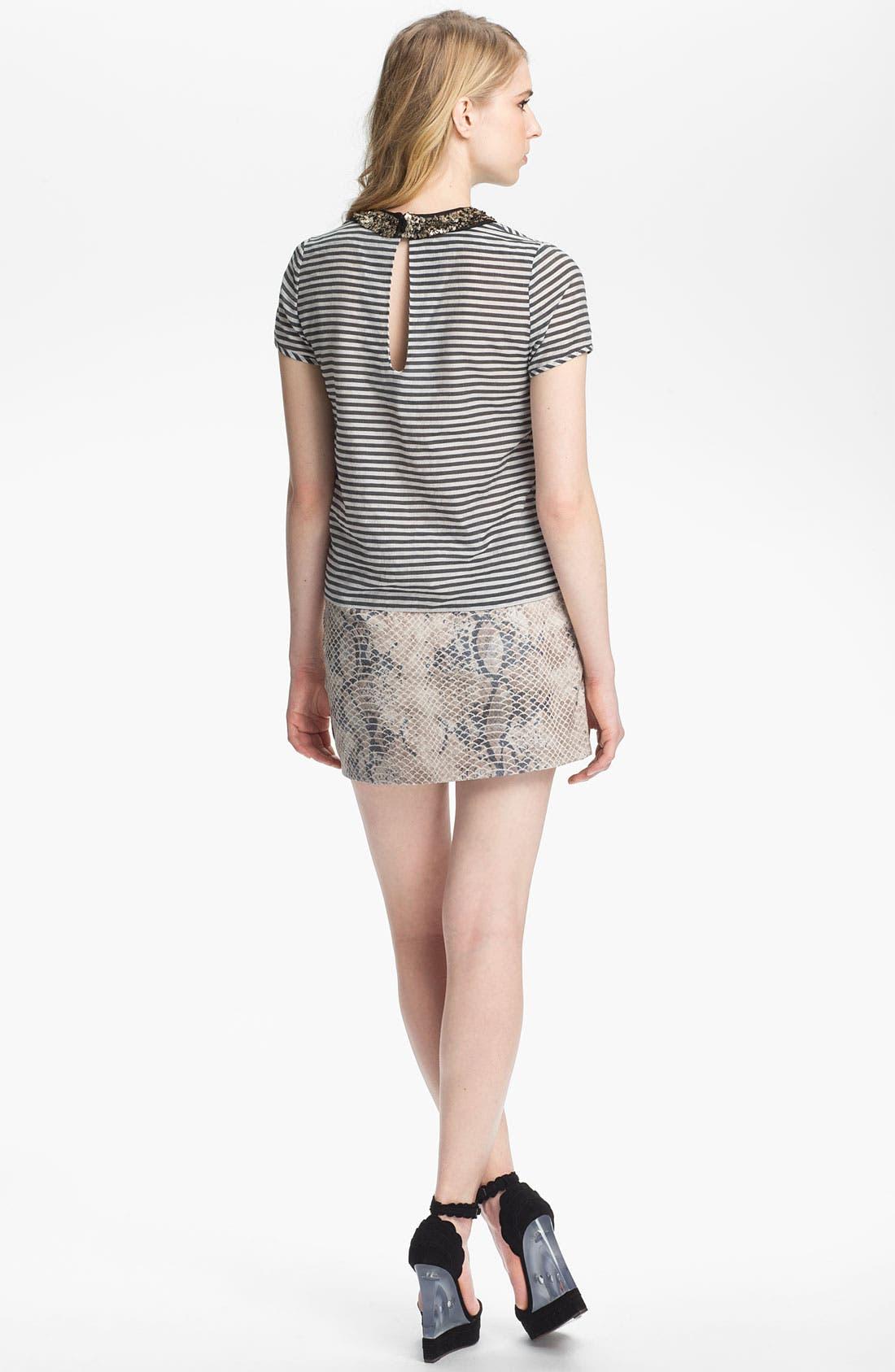 Alternate Image 4  - Gryphon Embossed Wrap Skirt