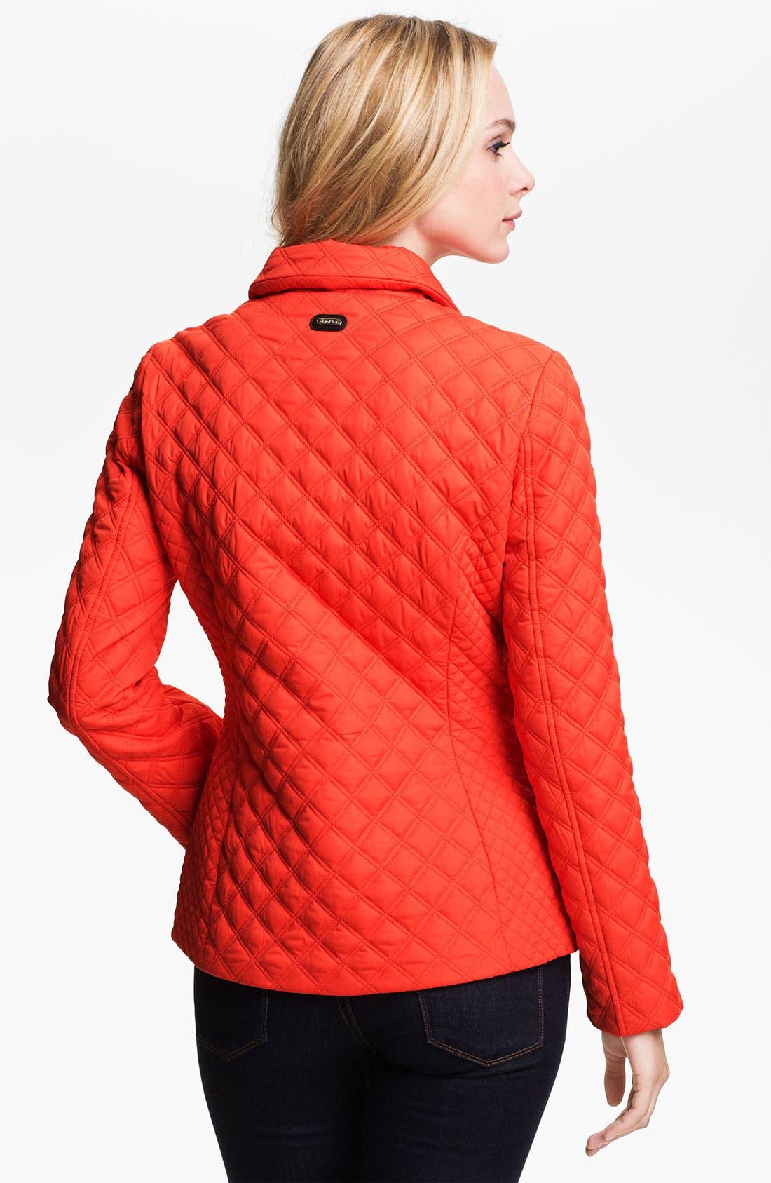 Alternate Image 2  - Calvin Klein Quilted Jacket