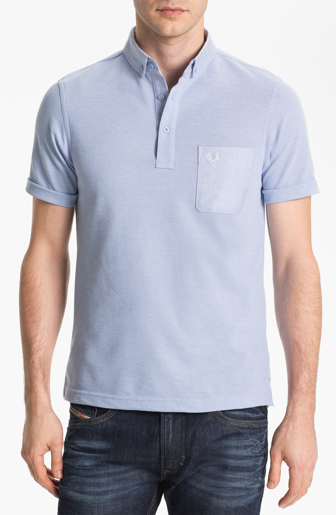 Alternate Image 1 Selected - Fred Perry Slim Fit Polo