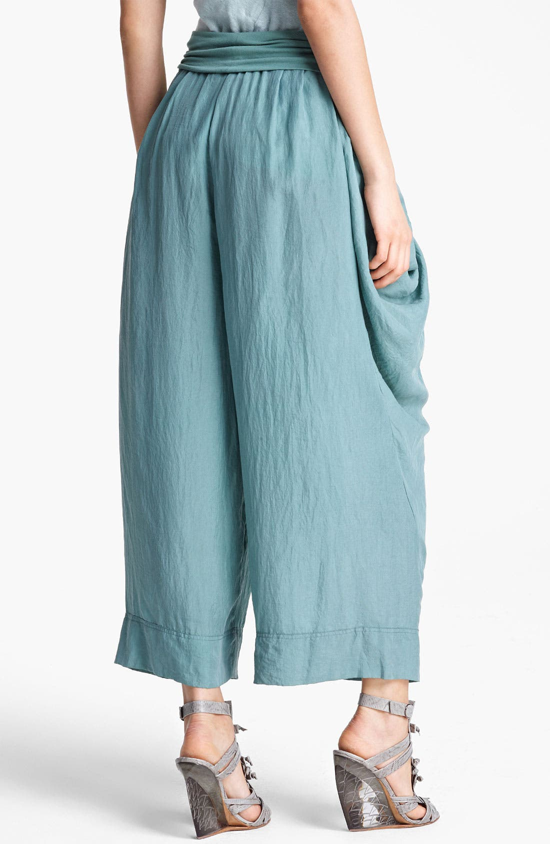 Alternate Image 2  - Donna Karan Collection Draped Gaucho Pants