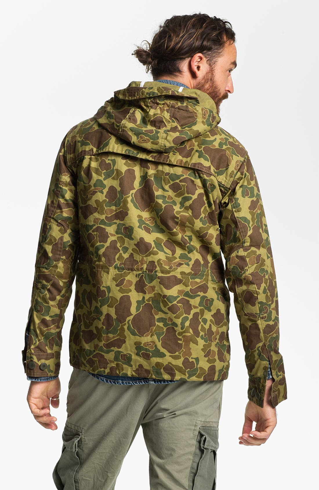 Alternate Image 2  - Penfield 'Gibson' Wax Coated Camo Jacket