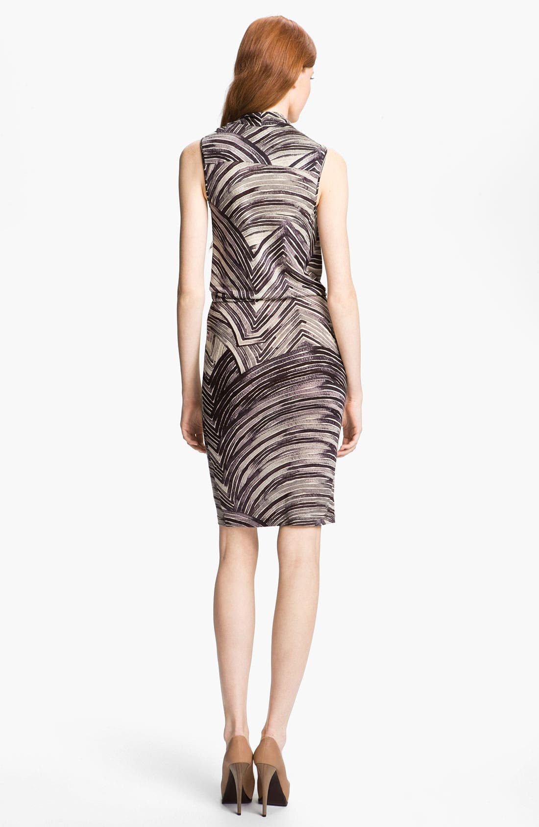 Alternate Image 2  - Halston Heritage Draped Dress