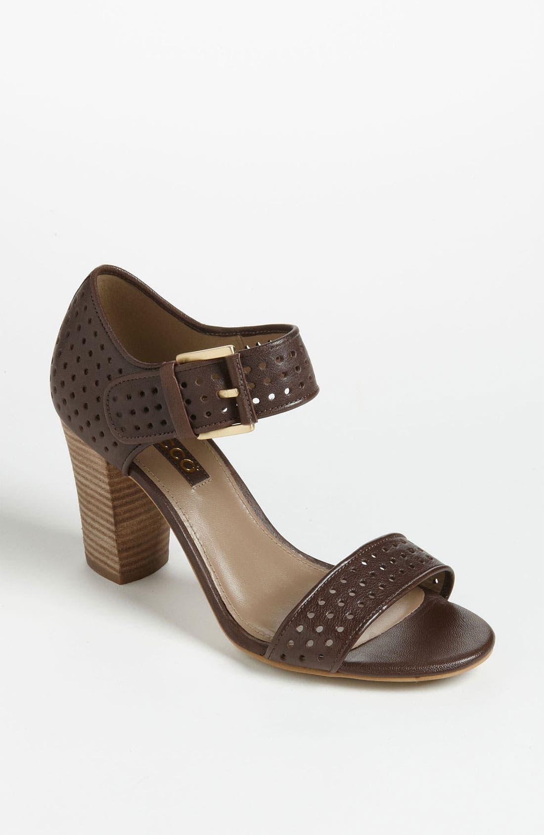 Alternate Image 1 Selected - ECCO 'Omak' Perforated Sandal