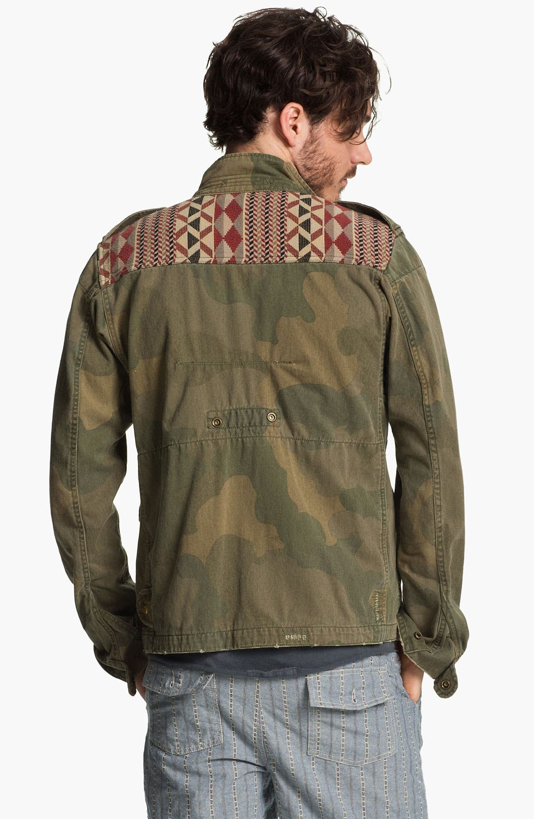 Alternate Image 2  - Scotch & Soda Camo Print Field Jacket