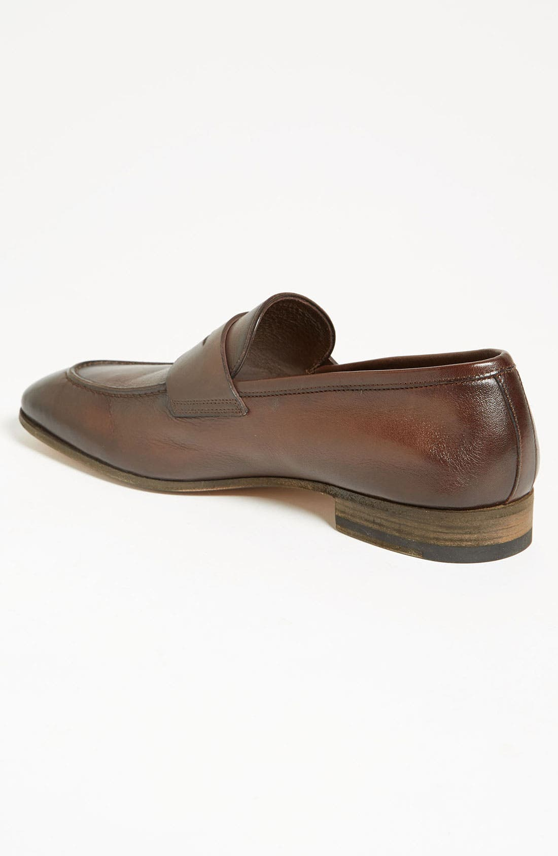 Alternate Image 2  - Santoni 'Tristan' Penny Loafer (Men)