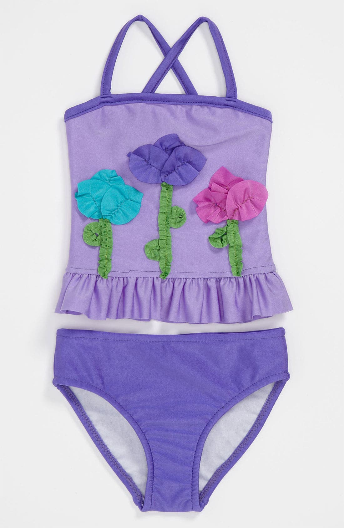 Alternate Image 1 Selected - Love U Lots Two Piece Swimsuit (Toddler)