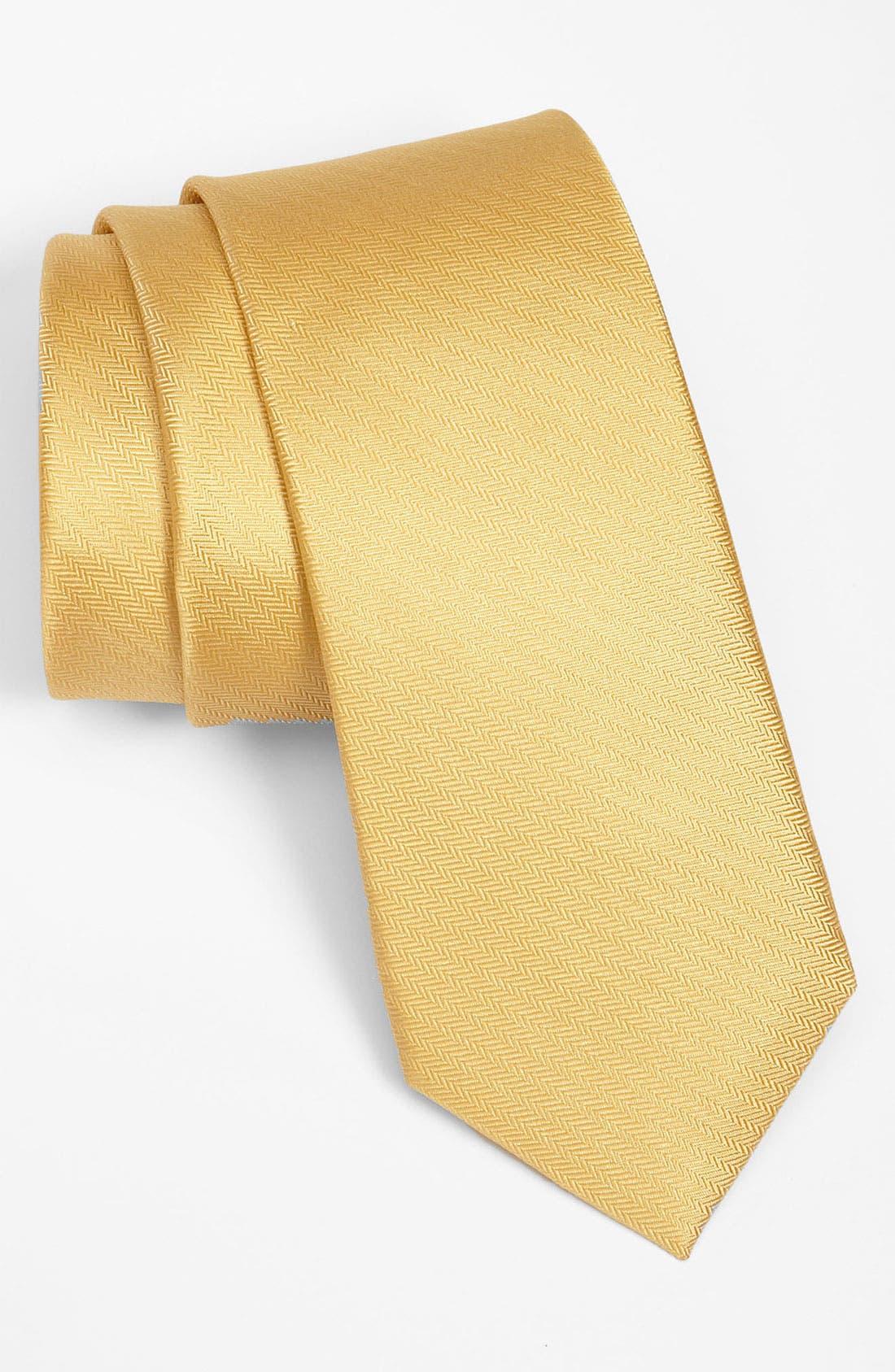 Alternate Image 1 Selected - 1901 Woven Silk Tie