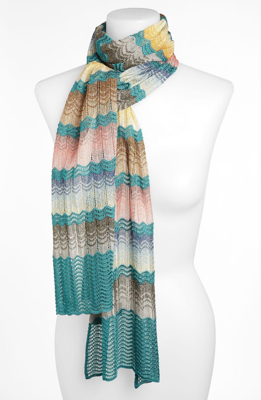 Alternate Image 1 Selected - Missoni Zigzag Knit Scarf
