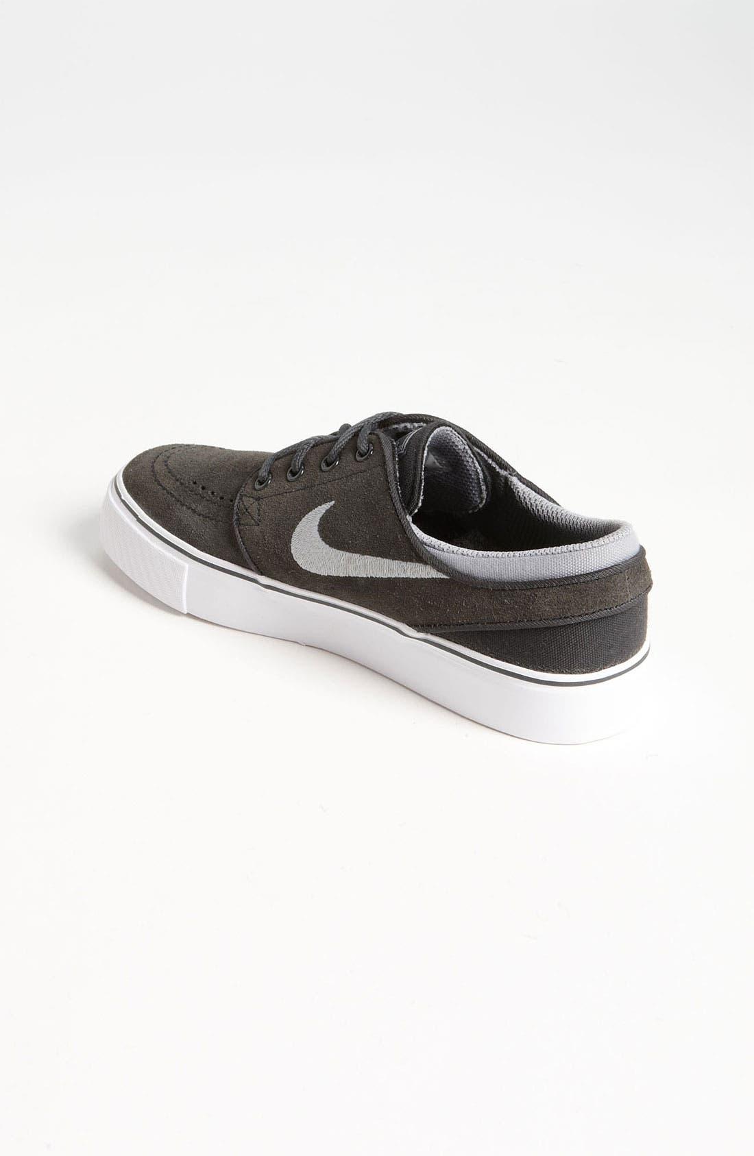'Stefan Janoski' Sneaker,                             Alternate thumbnail 2, color,                             Anthracite/ Grey