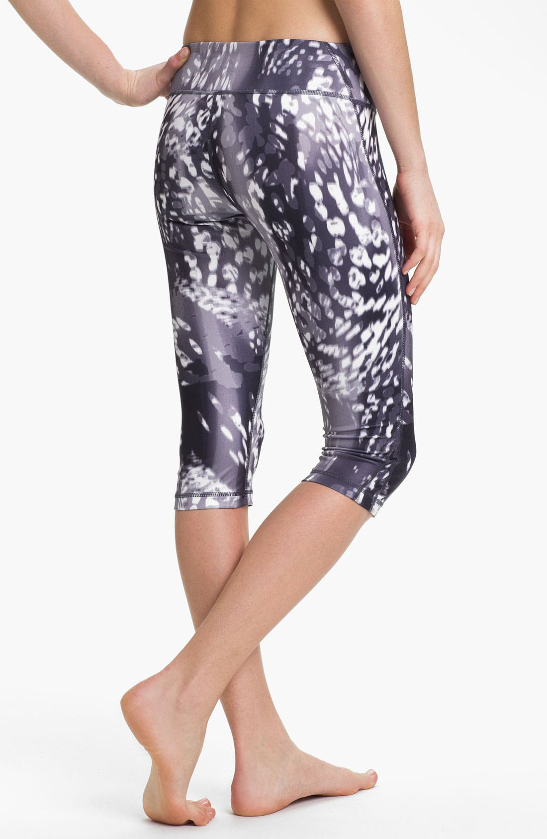 Alternate Image 2  - Zella 'Live In' Print Capri Leggings