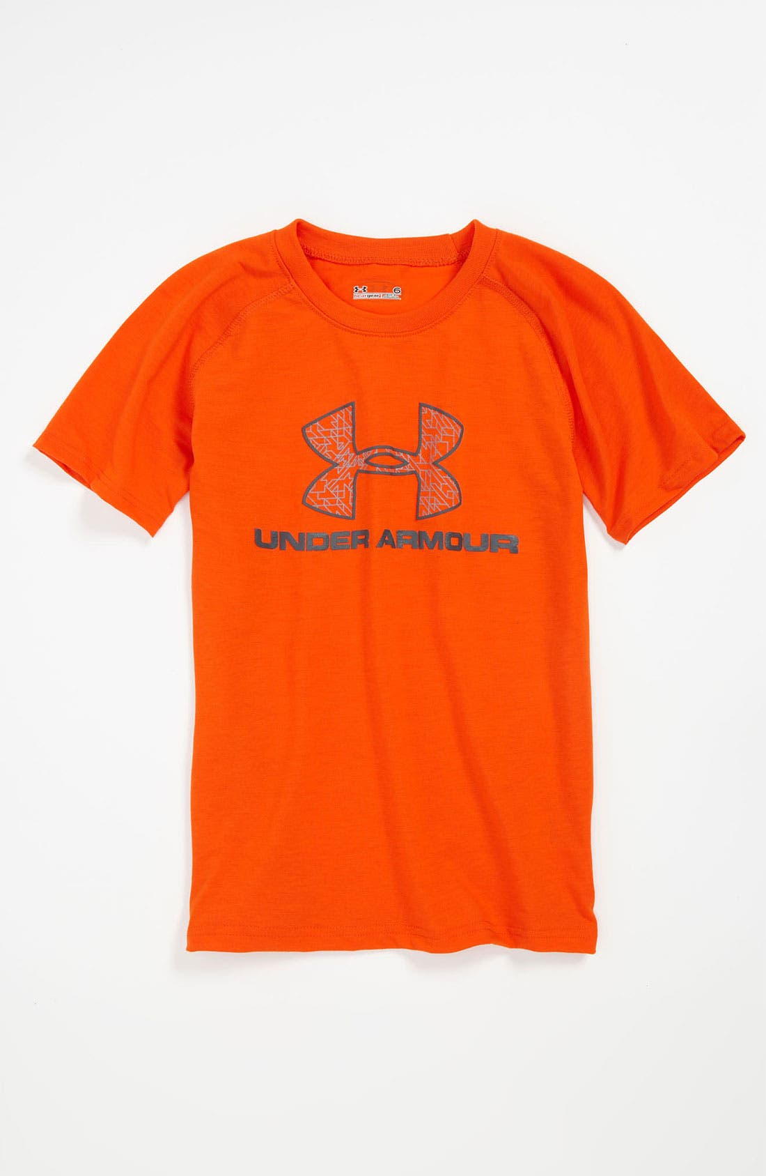 Alternate Image 1 Selected - Under Armour 'Digi' Logo T-Shirt (Little Boys)
